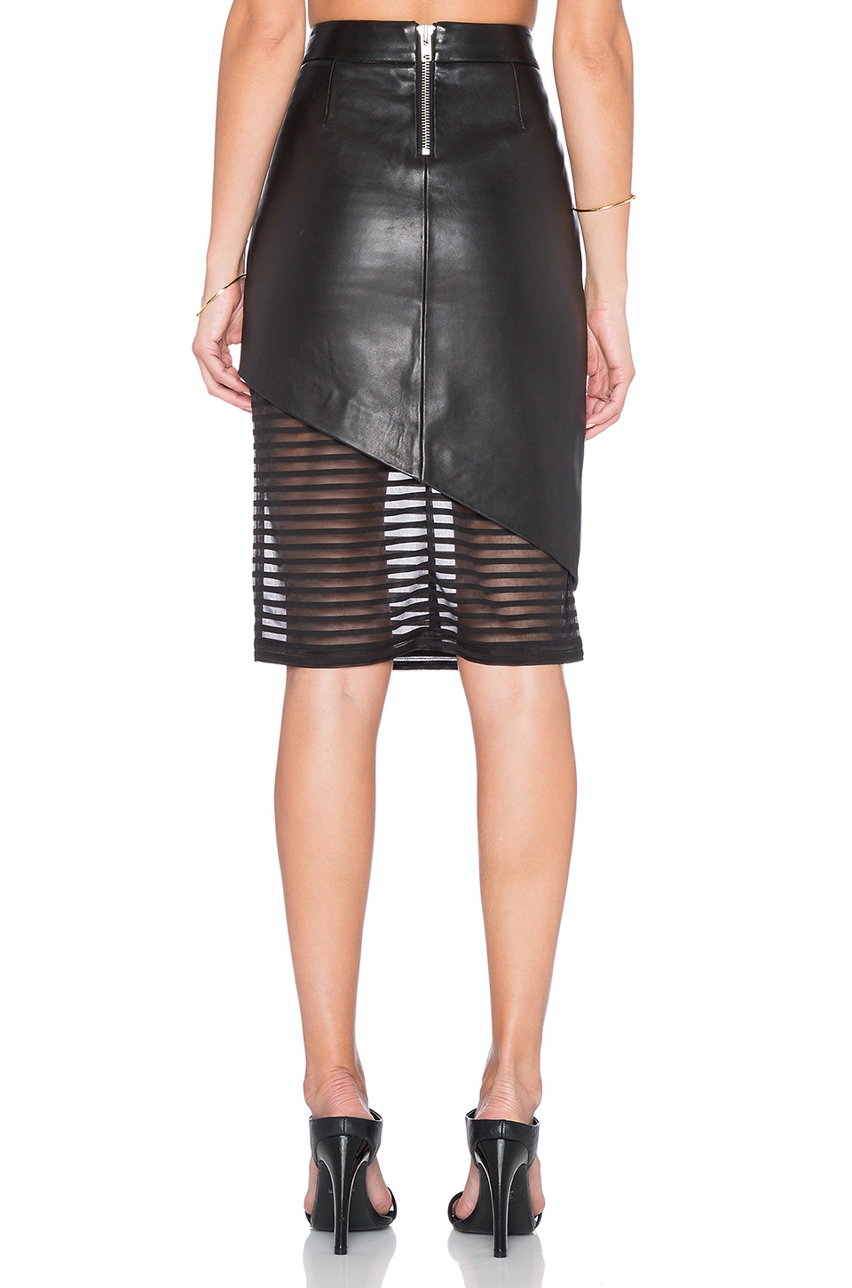 39d1f34013 Gallery. Previously sold at: REVOLVE · Women's Leather Skirts Women's Black  Leather Skirts