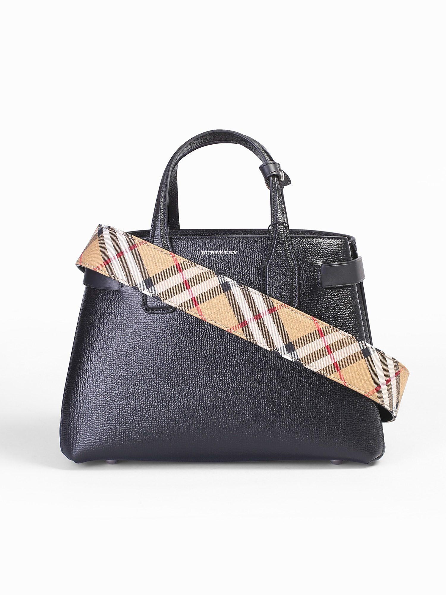 6a75f2616eeb Burberry. Women s Small Banner Leather Bag