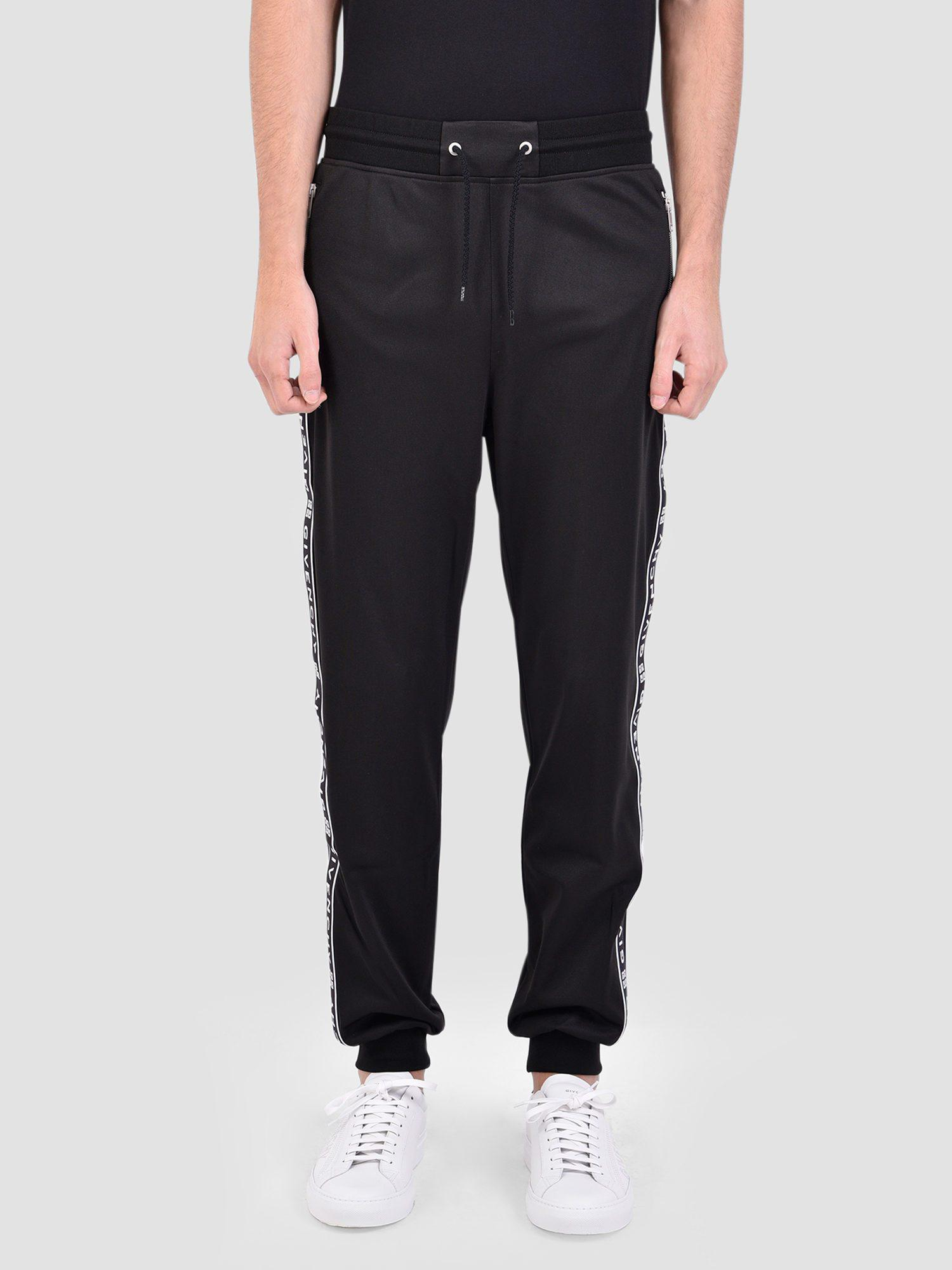 e5207599a5db Lyst - Givenchy Logo Bands Track Sweatpants in Black for Men