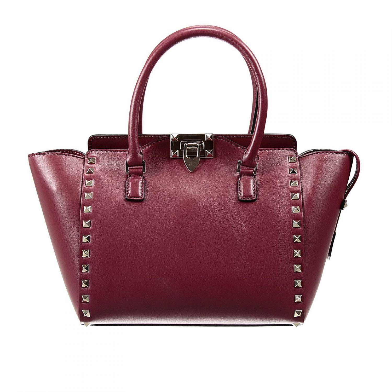 57d0e97cf85e27 Valentino Garavani Handbag Lizard Burgundy | Stanford Center for ...