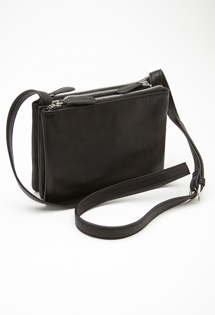 Forever 21 Detachable Crossbody Bag in Black | Lyst