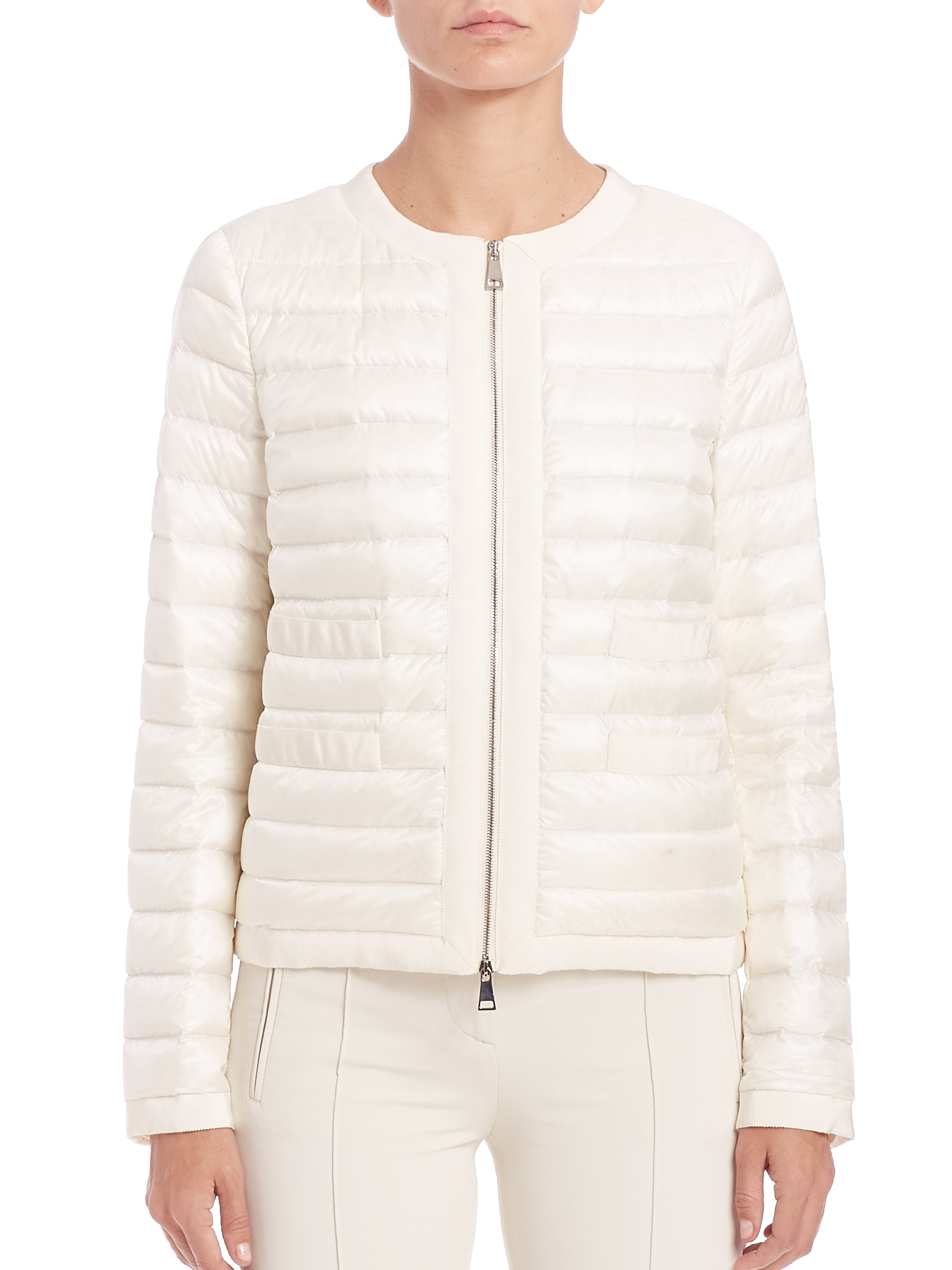 moncler jacket white