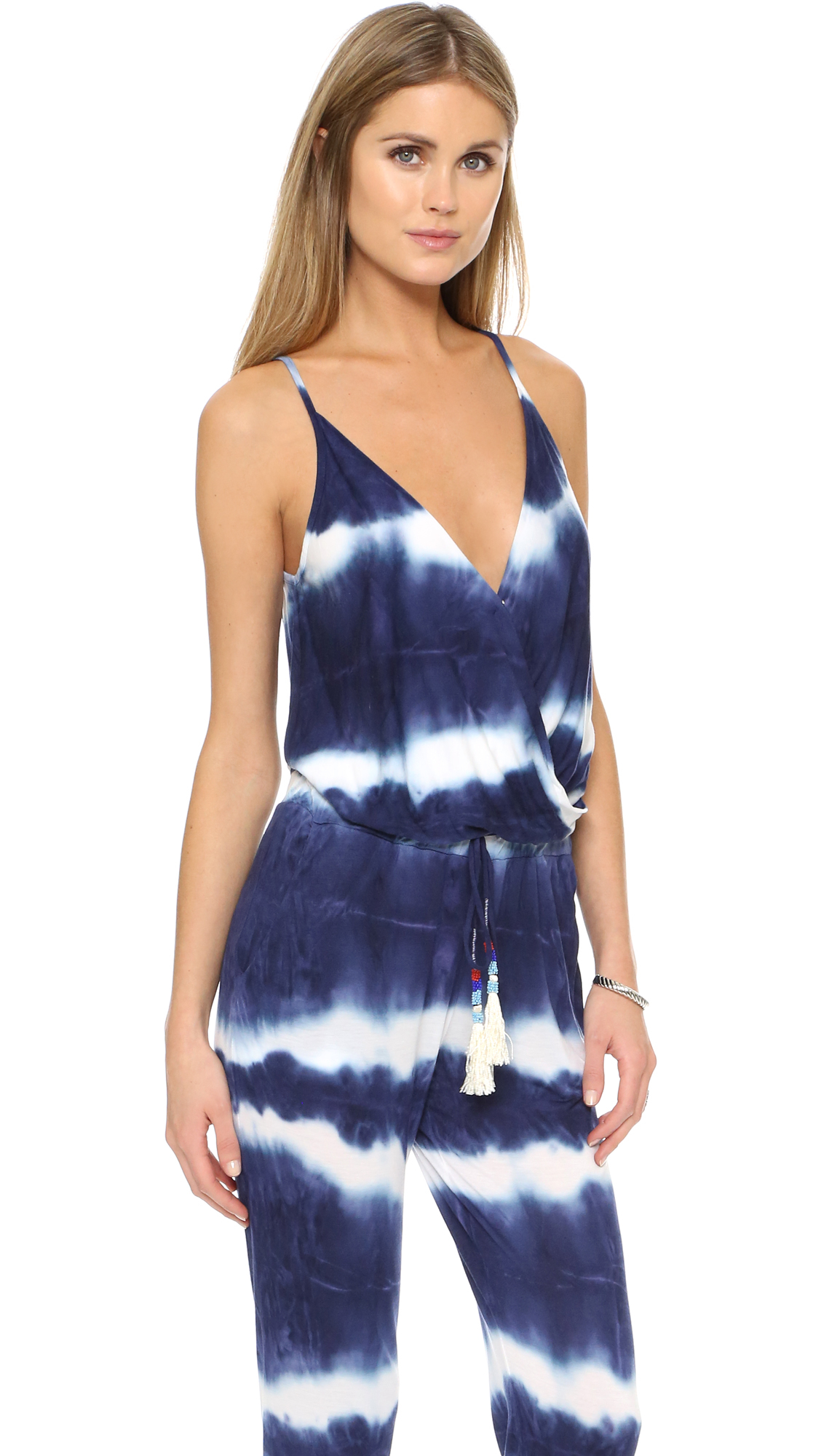 Lyst Young Fabulous Broke Kenzie Jumpsuit In Blue