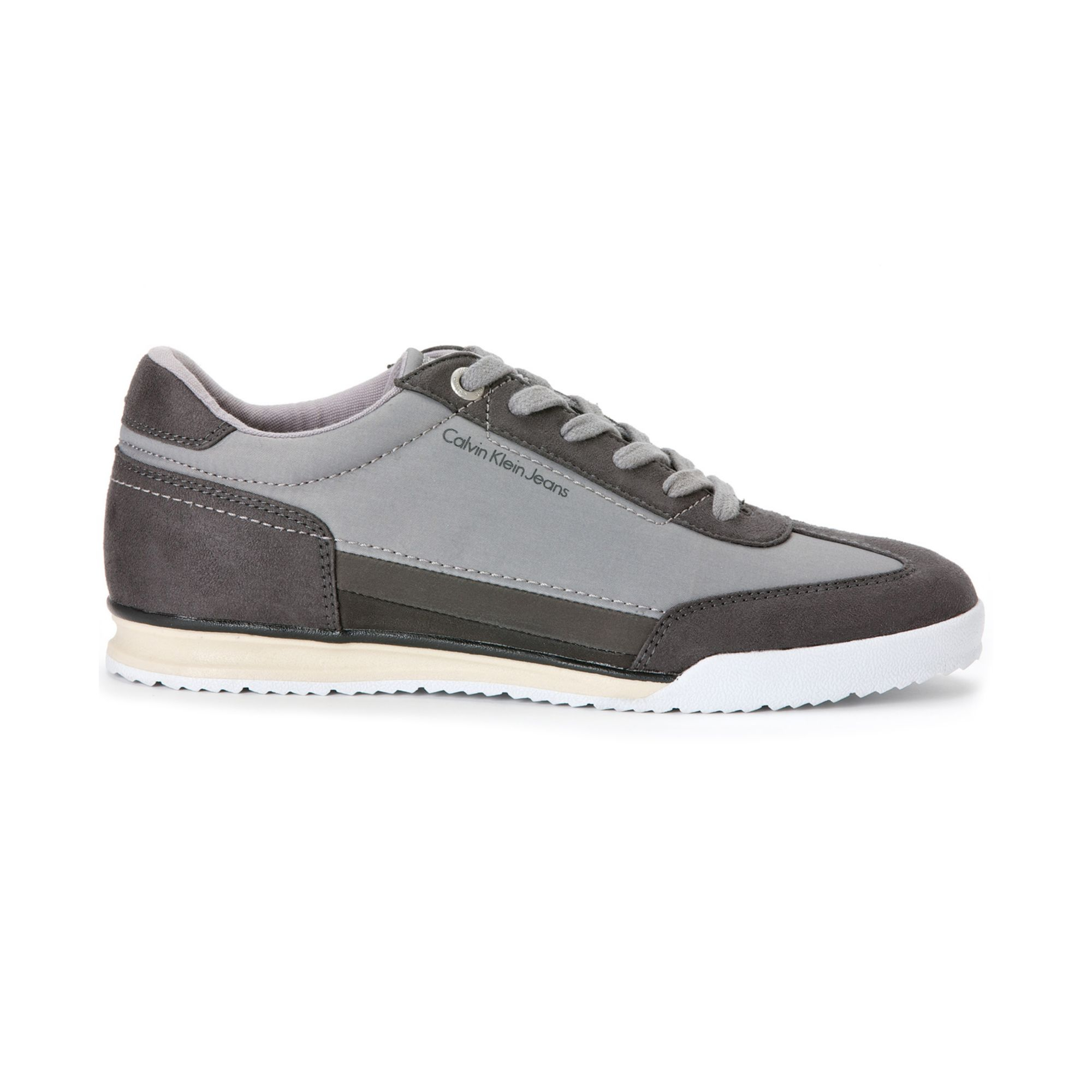 calvin klein ruben sneakers in gray for men lyst. Black Bedroom Furniture Sets. Home Design Ideas