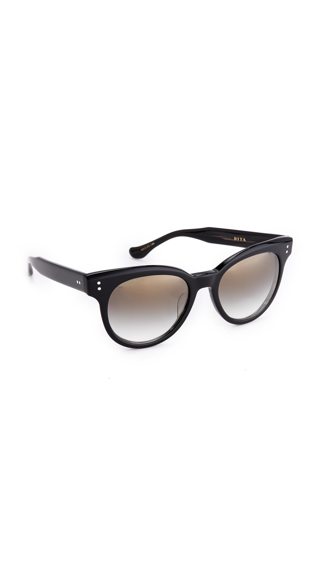 a42b4f5f6fcf Lyst - DITA Sunspot Sunglasses - Black grey Gradient in Black