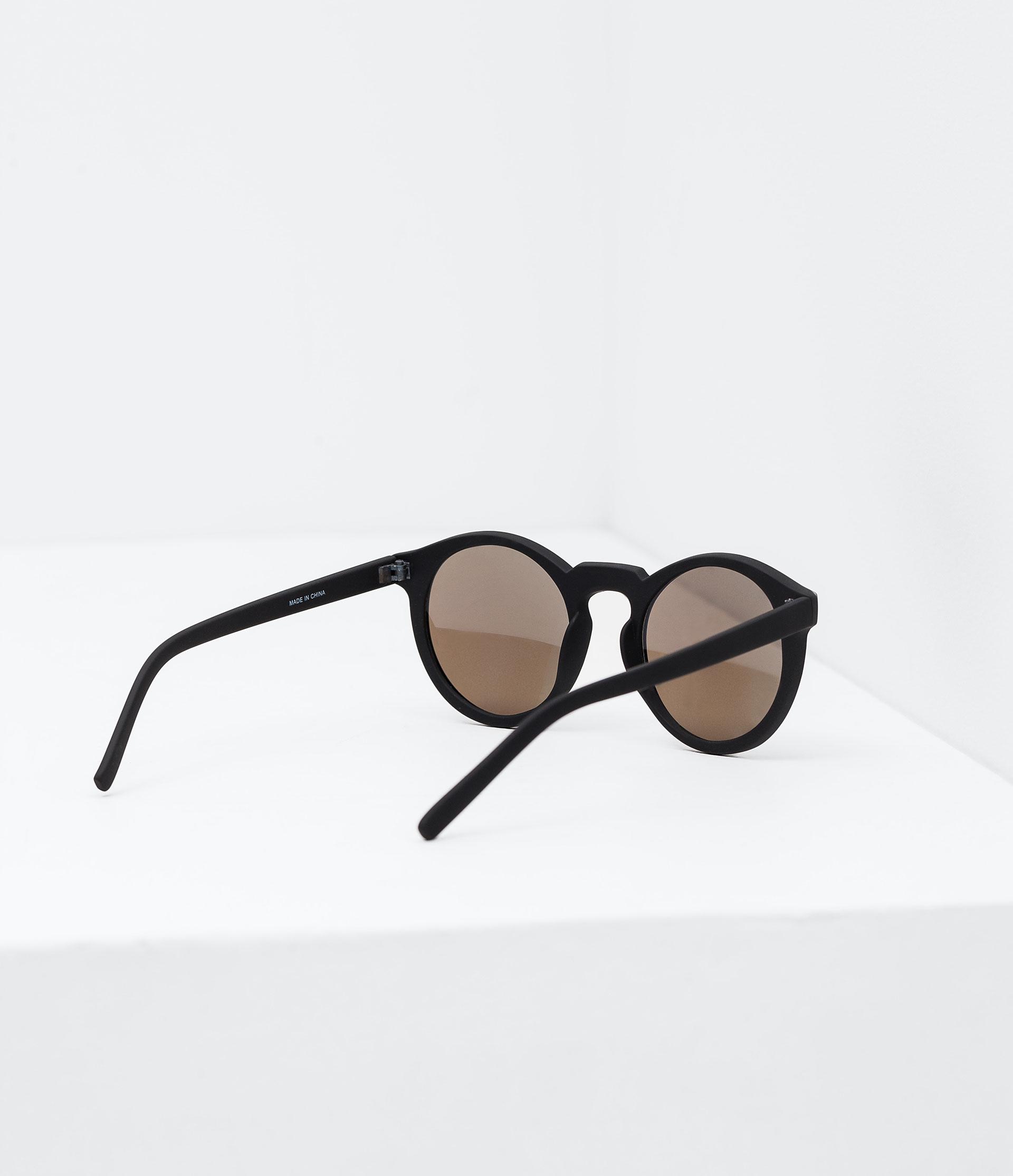 Zara Glasses Frames : Zara Sunglasses With Tortoiseshell Frame And Metallic Arms ...