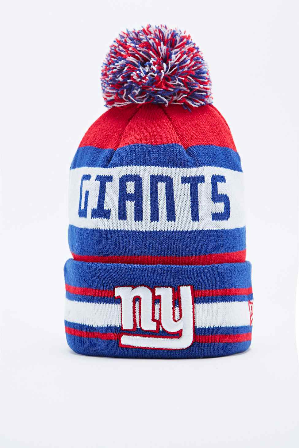 ... where to buy ktz new york giants bobble hat in red and blue for men lyst 6fae08dabb16
