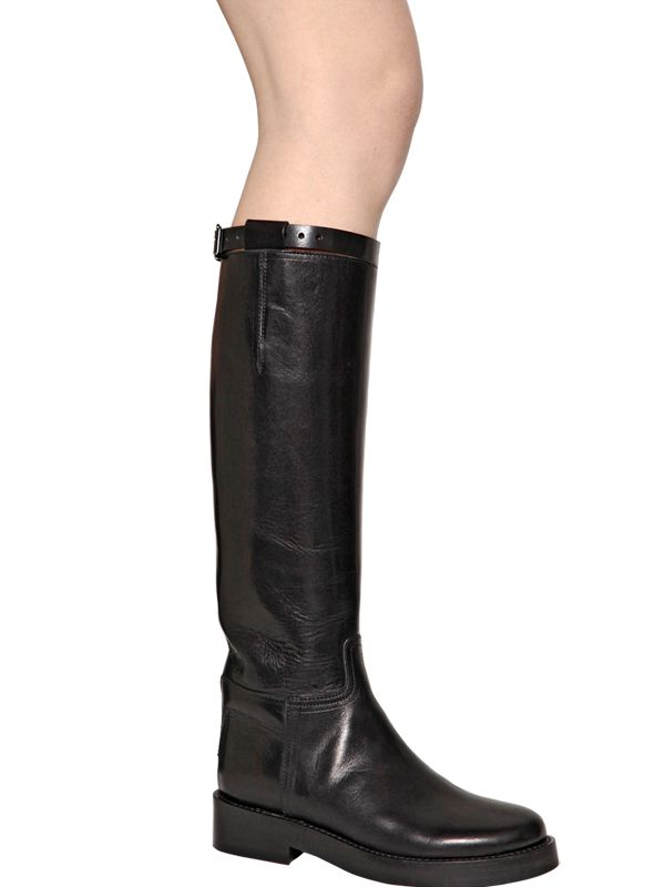 Pre-owned - Leather boots Ann Demeulemeester AykJ0