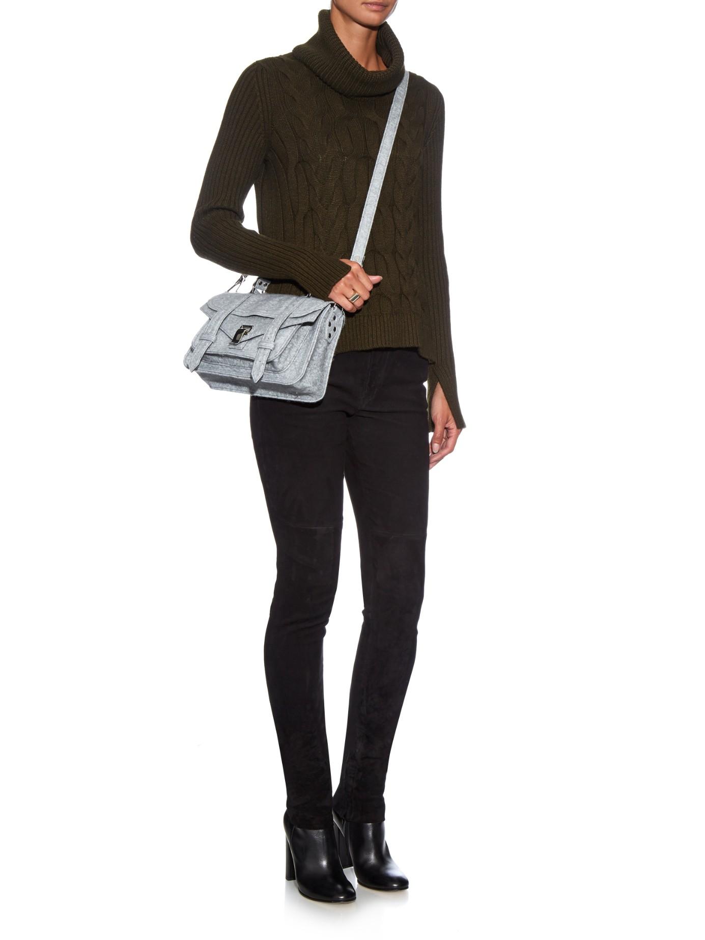 PS1 Mini Crossbody leather shoulder bag Proenza Schouler ZWGsr88x