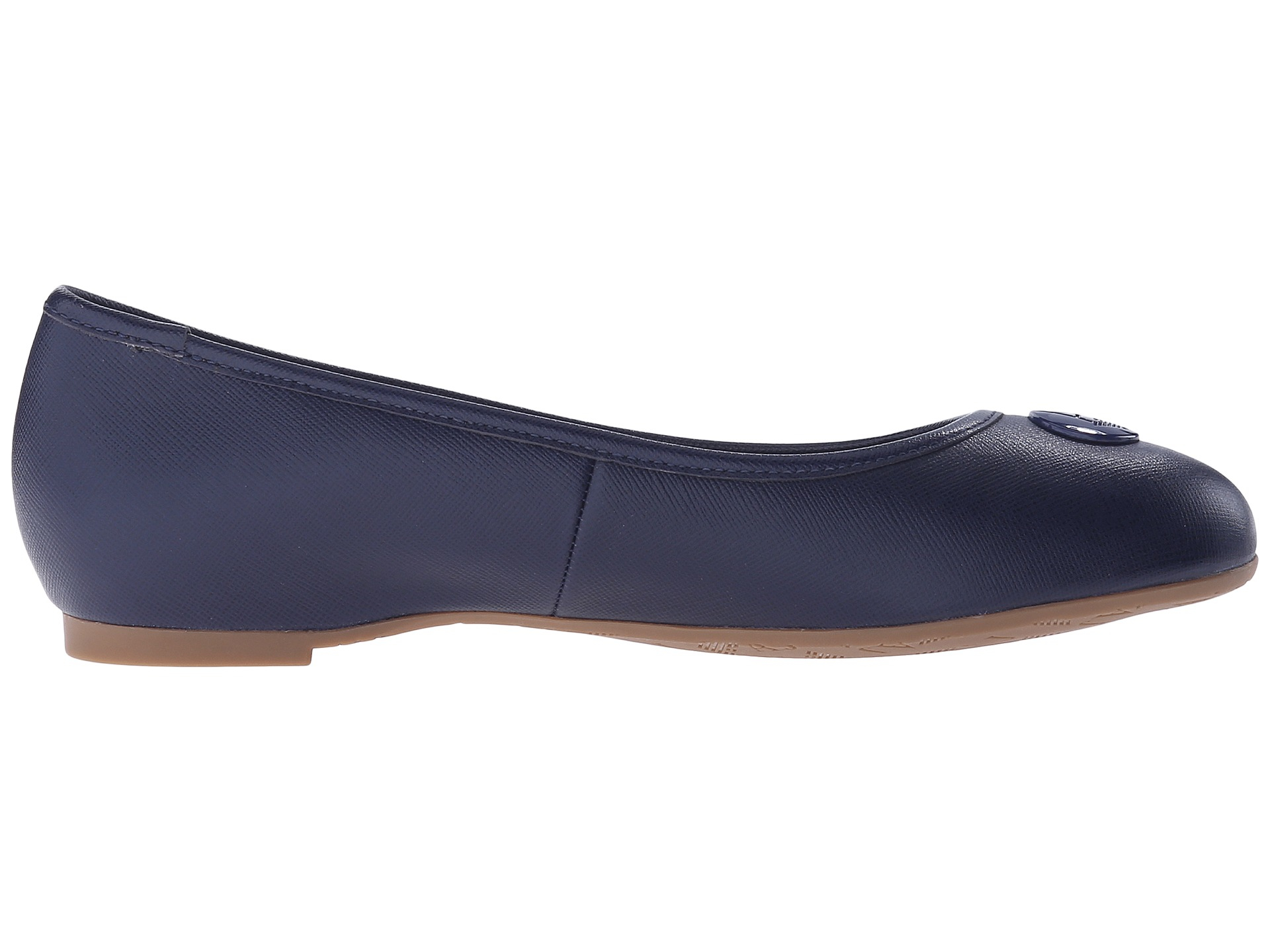 Armani Leather Ballet Flats