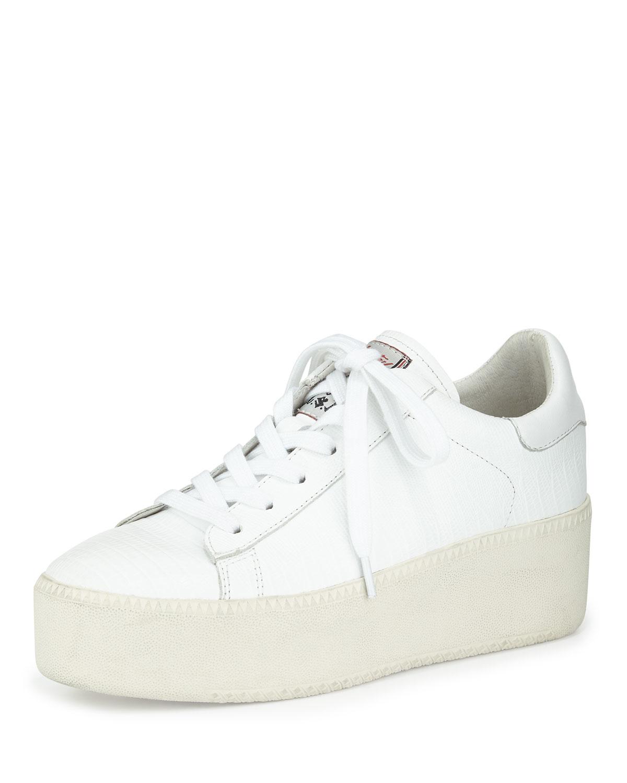Ash Cult Platform Leather Sneakers