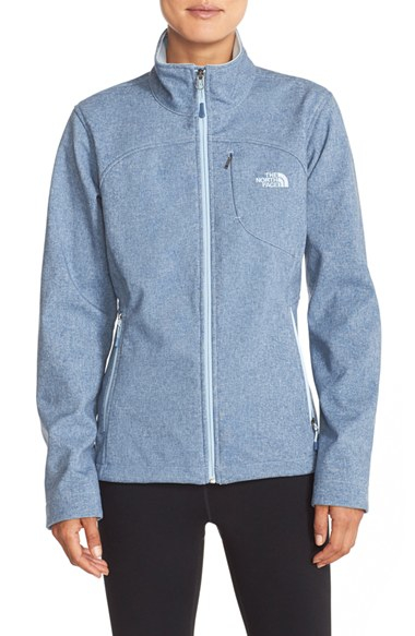 ... sweden ireland lyst the north face apex bionic jacket in blue 24b3c  065ec usa north face 40eecb3c9