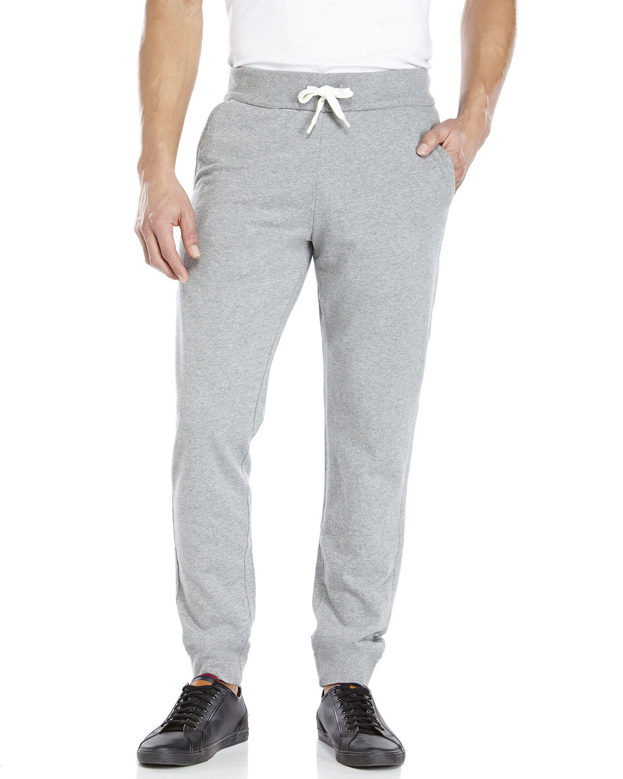 lyst french connection formal sweatpants in gray for men