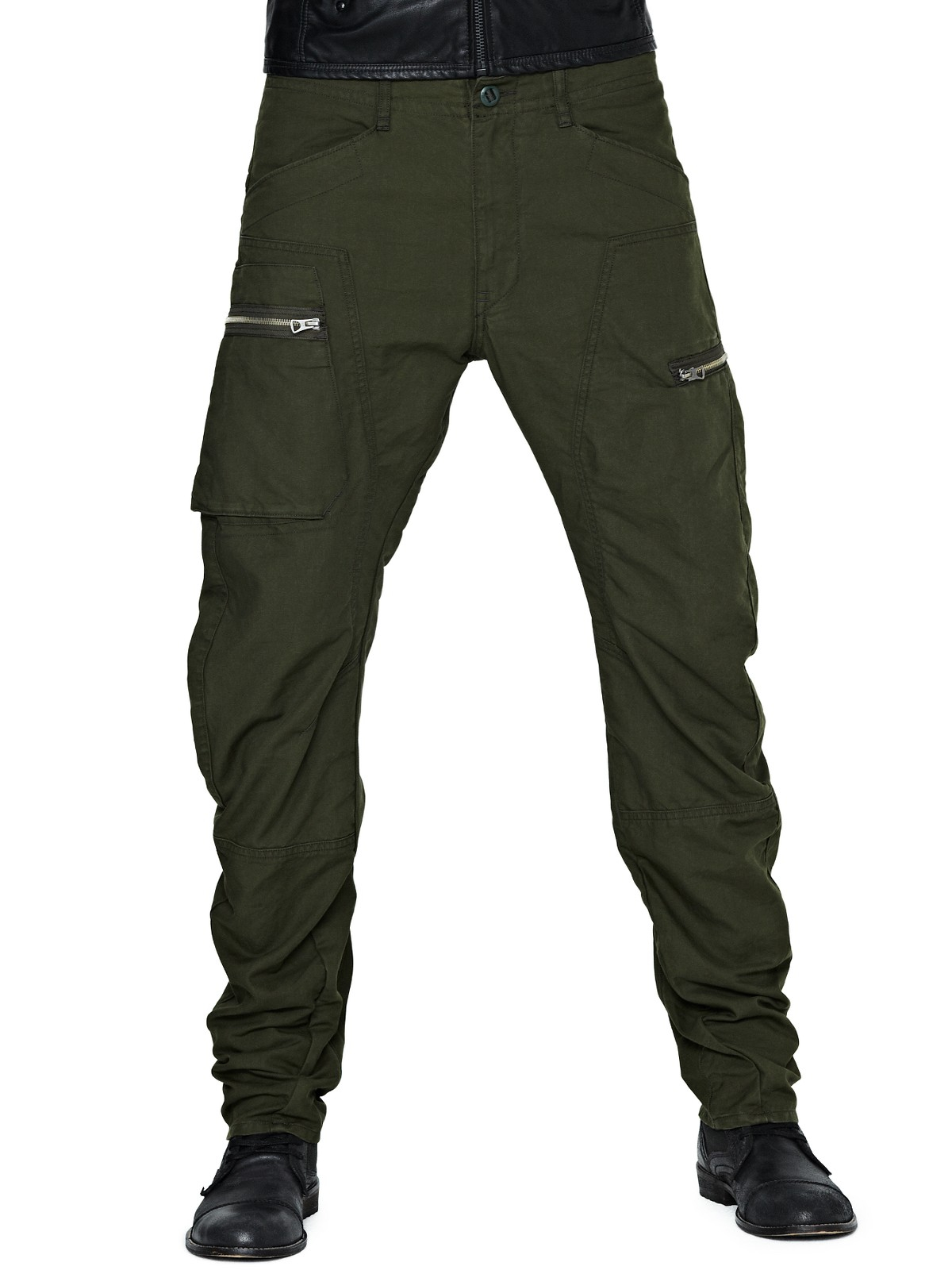 G Star Raw Gstar Raw Powel 3d Mens Tapered Cargo Trousers