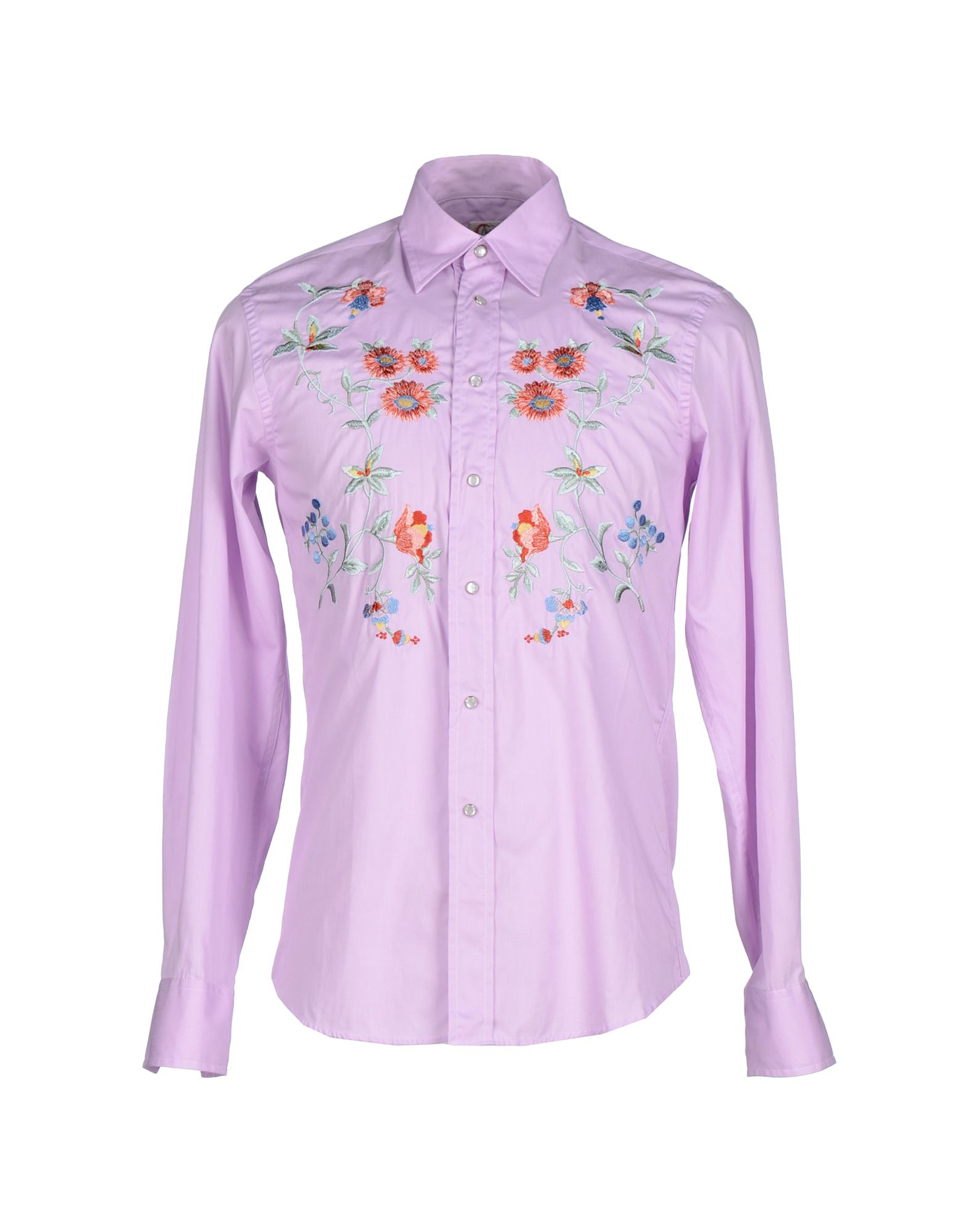 Age shirt in purple for men light purple lyst Light purple dress shirt men