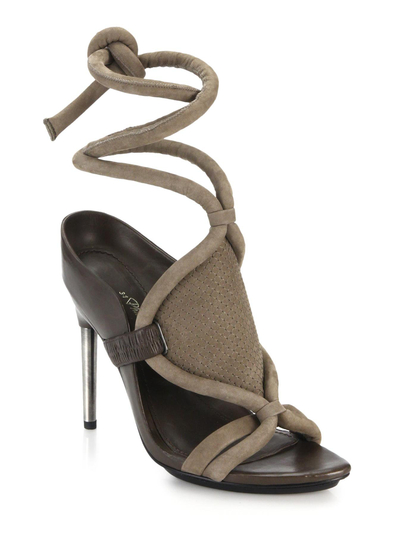 3.1 Phillip Lim Suede Cage Sandals real cheap price discount top quality K9IKYkv