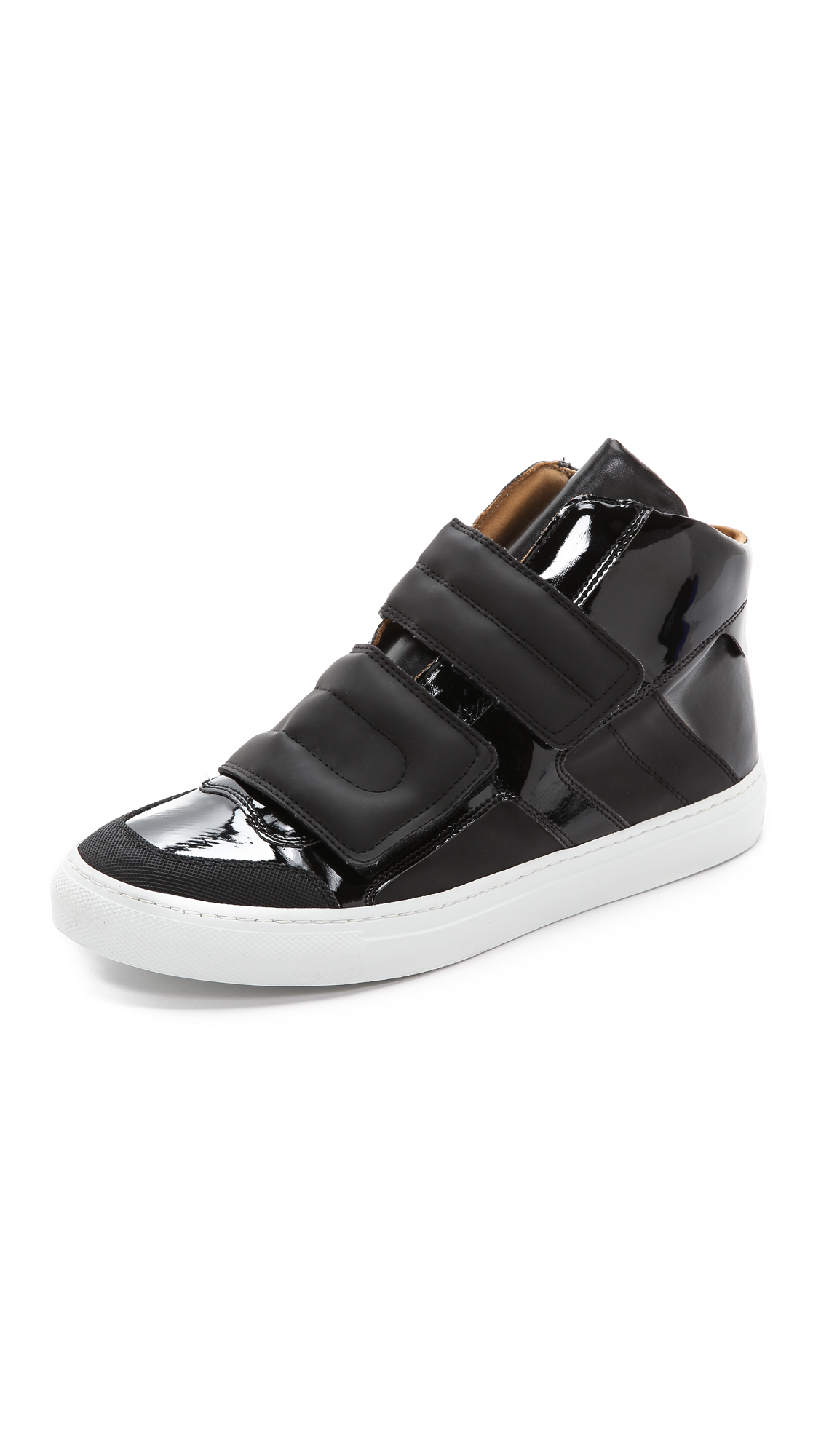 Mm6 by maison martin margiela high top velcro sneakers for Mm6 maison martin margiela