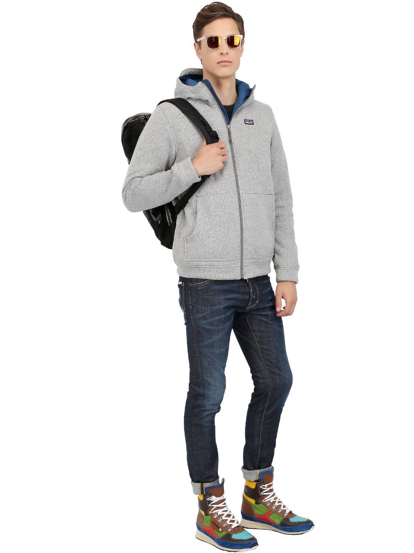 Lyst Patagonia Better Sweater Hoody Fleece Jacket In