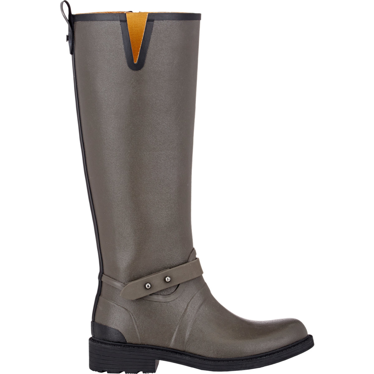 rag bone moto knee high boots in gray lyst