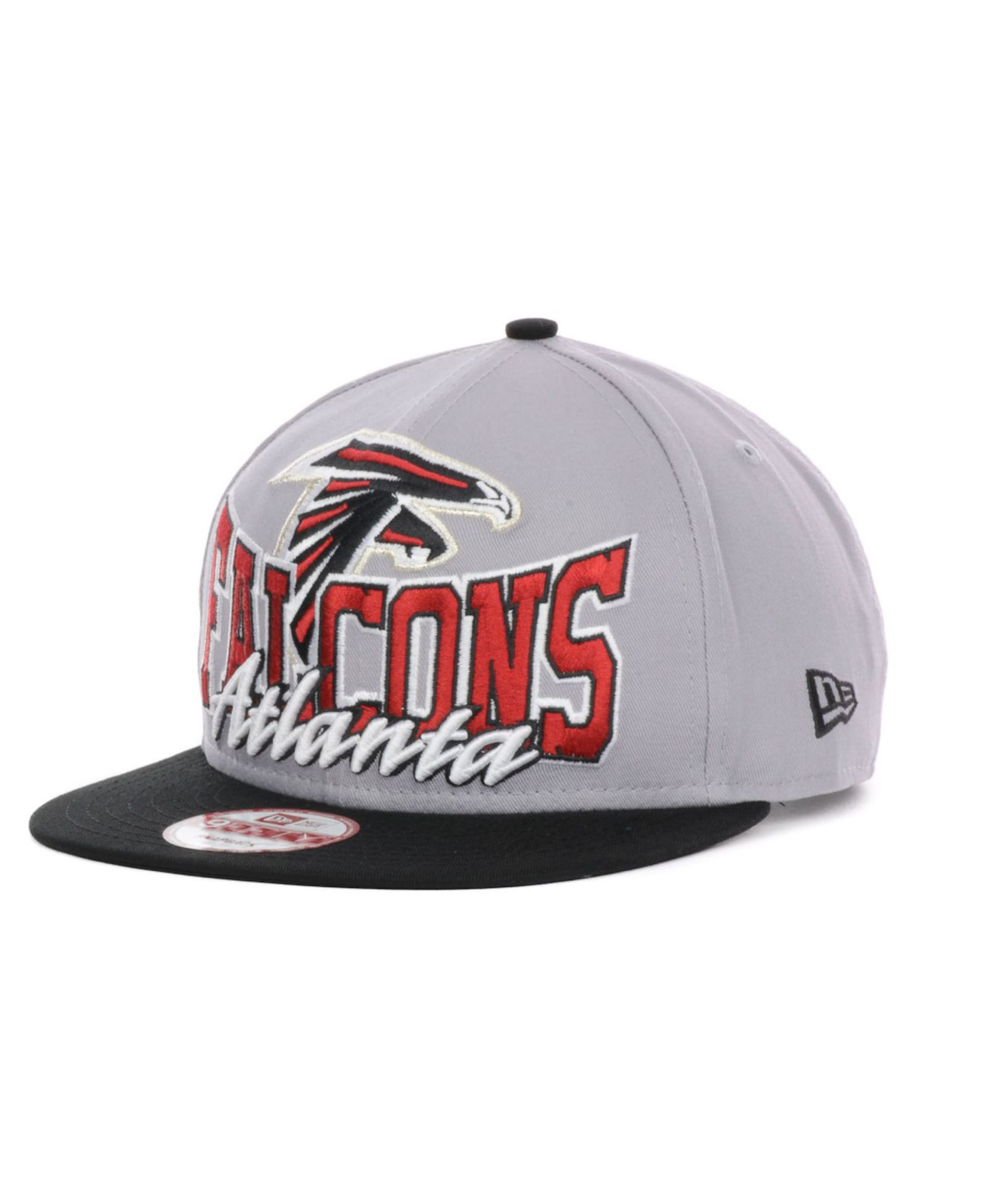 e858177f267 Lyst - KTZ Atlanta Falcons Nfl Gray Out And Up 9Fifty Snapback Cap ...