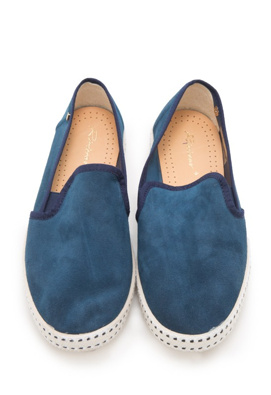 rivieras sultan 10 leisure shoe in blue lyst