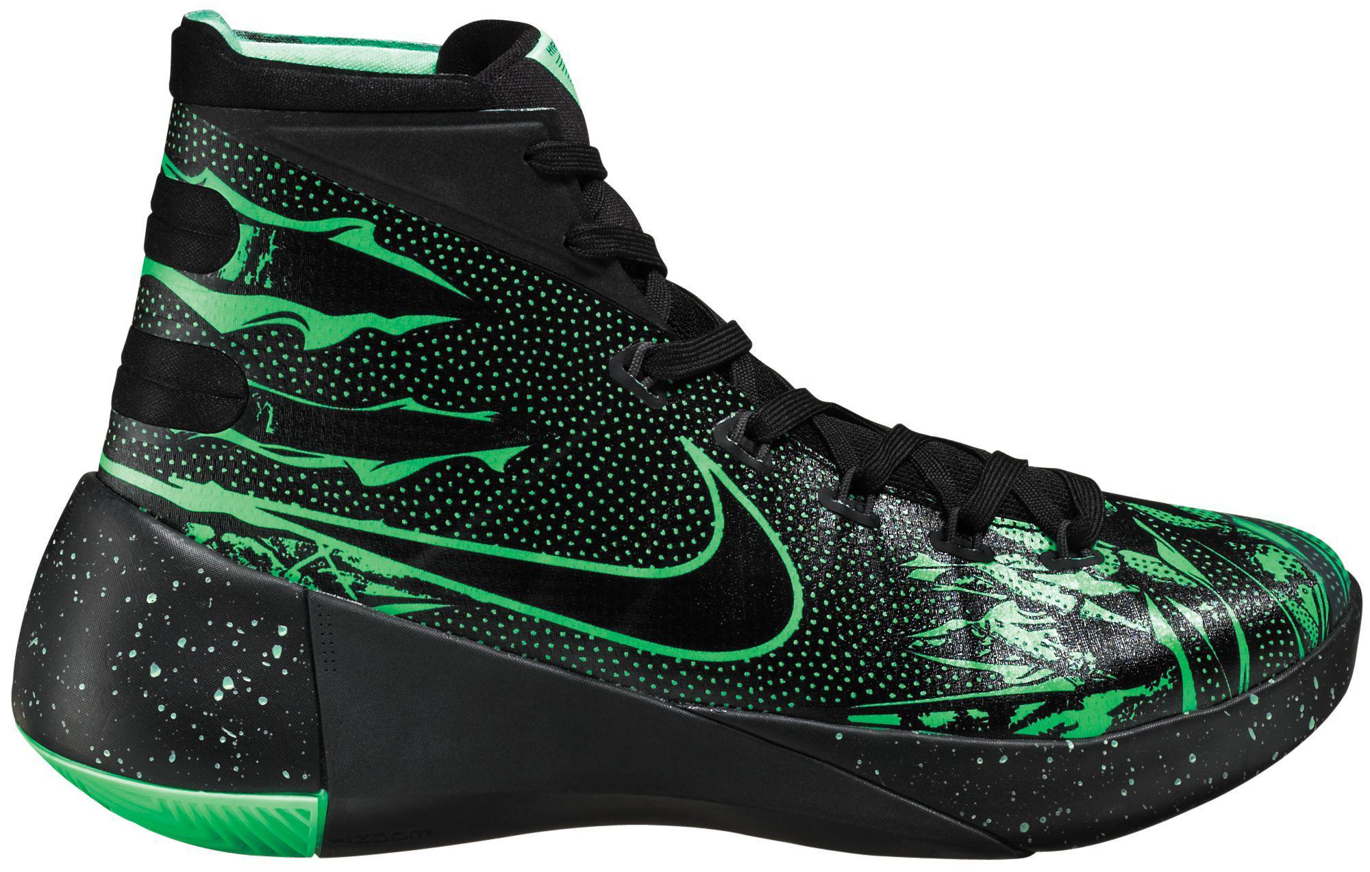 a90907d518b1 Lyst - Nike Hyperdunk 2015 Premium Basketball Shoes in Black for Men