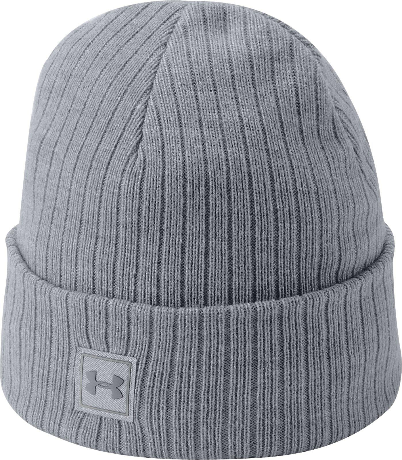 Lyst - Under Armour Truckstop 2.0 Beanie in Gray for Men c37b3a0fe764