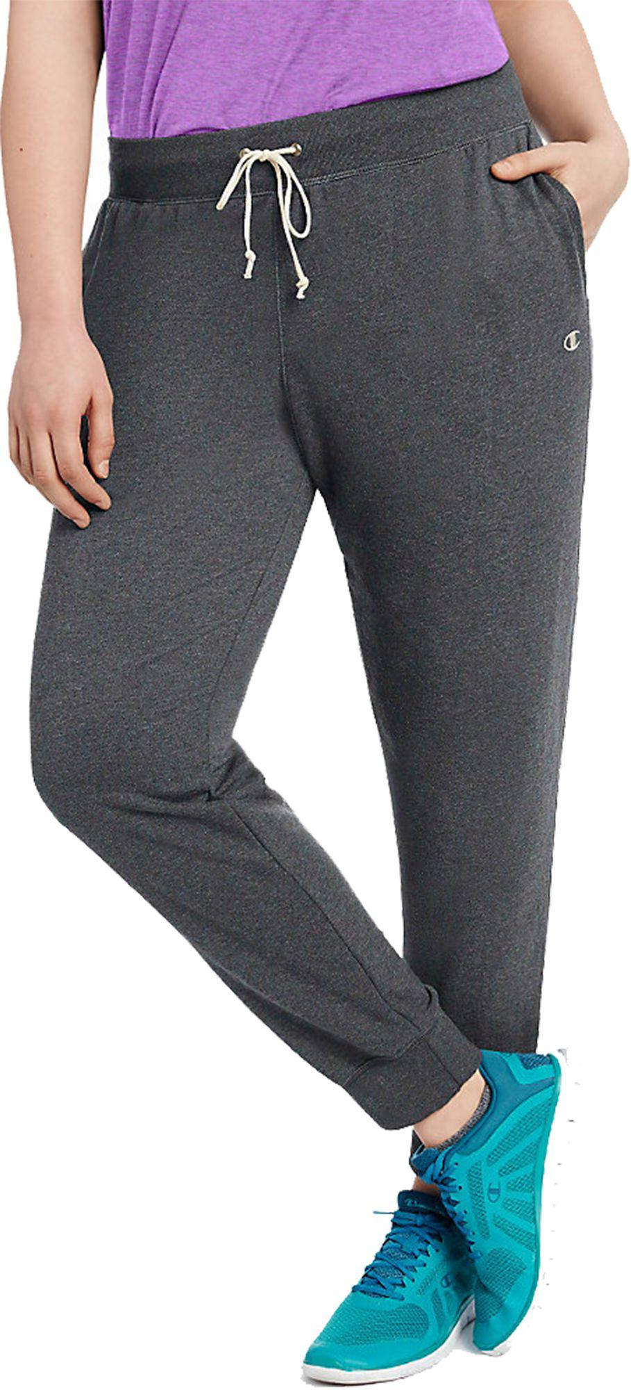cc16cf88e3503 Lyst - Champion Plus Size French Terry Jogger Pants in Gray