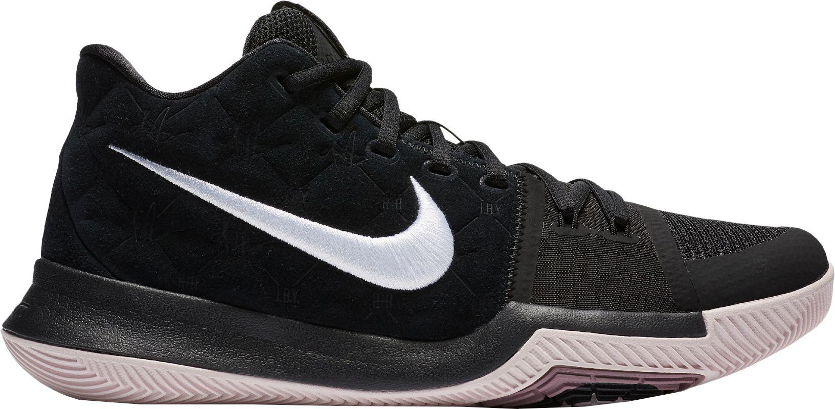 fb86ca2cc34f ... cheap nike black kyrie 3 basketball shoes for men lyst 94139 82566