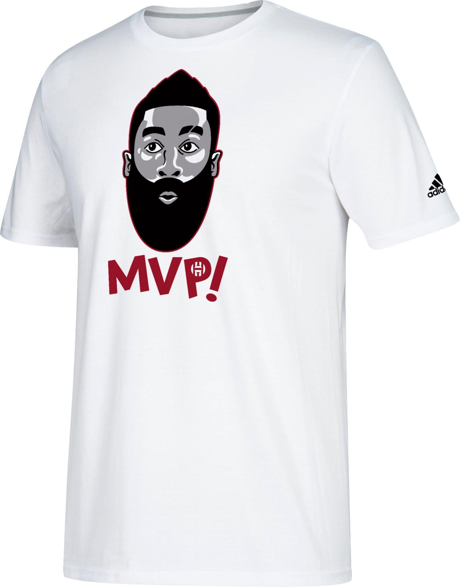 eaeb93253df adidas Harden Mvp Graphic T-shirt in White for Men - Lyst