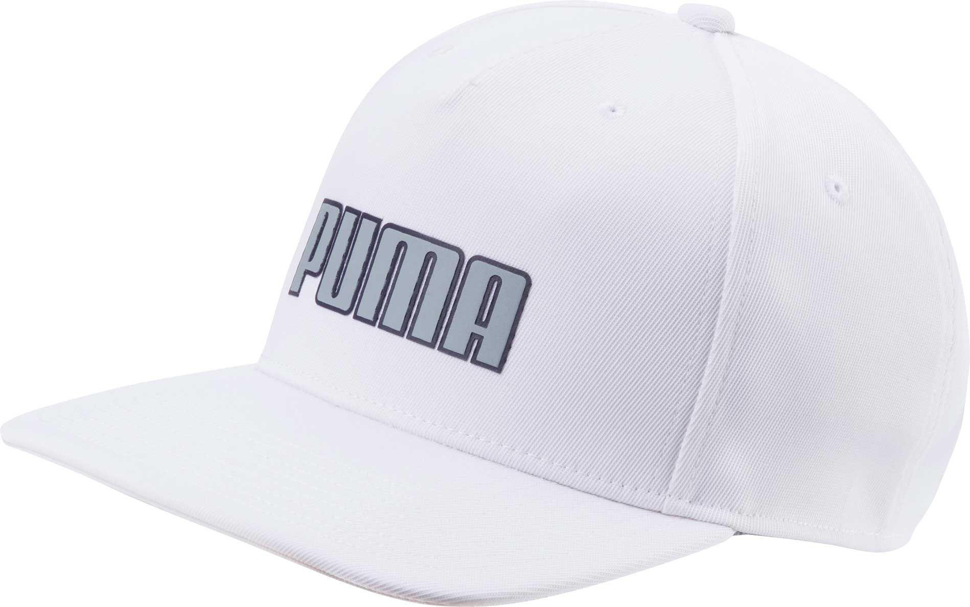 b62a9421bfa ... lyst 70a85 7e8a0 where to buy puma men monoline snapback golf hat white  black hats y97z7445 4845b 1834e ...