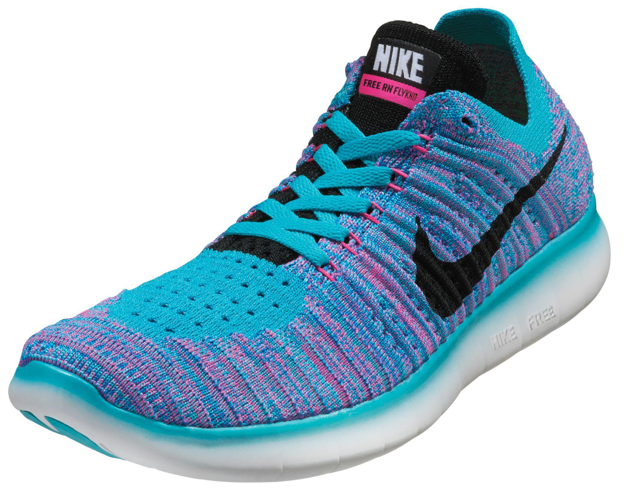 57fea5be814b Lyst - Nike Free Rn Flyknit Running Shoes in Blue for Men