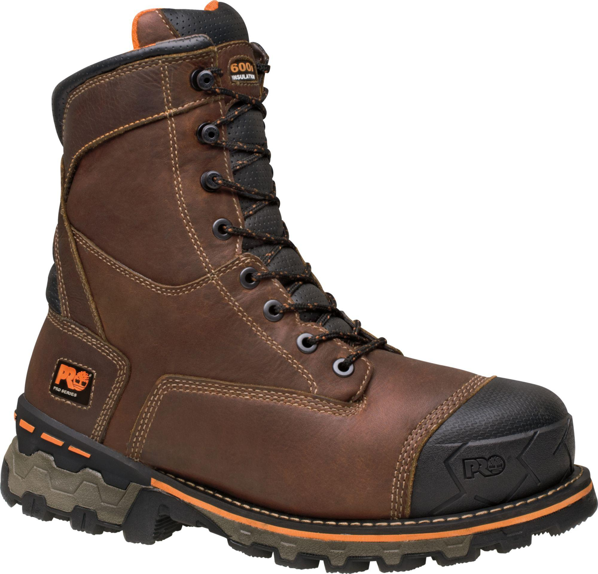 79ca5fc9907e5 Timberland - Brown Pro 8'' Boondock Waterproof 600g Soft Toe Work Boots for  Men