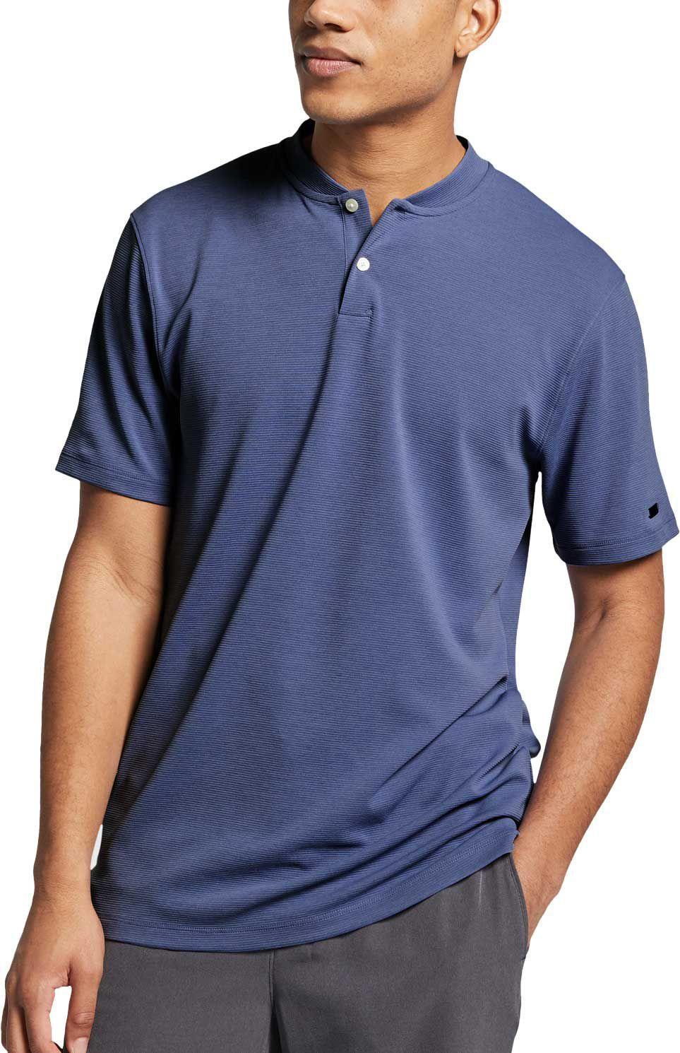 d5bc3a9b Nike Aeroreact Tiger Woods Vapor Golf Polo in Blue for Men - Save 26 ...
