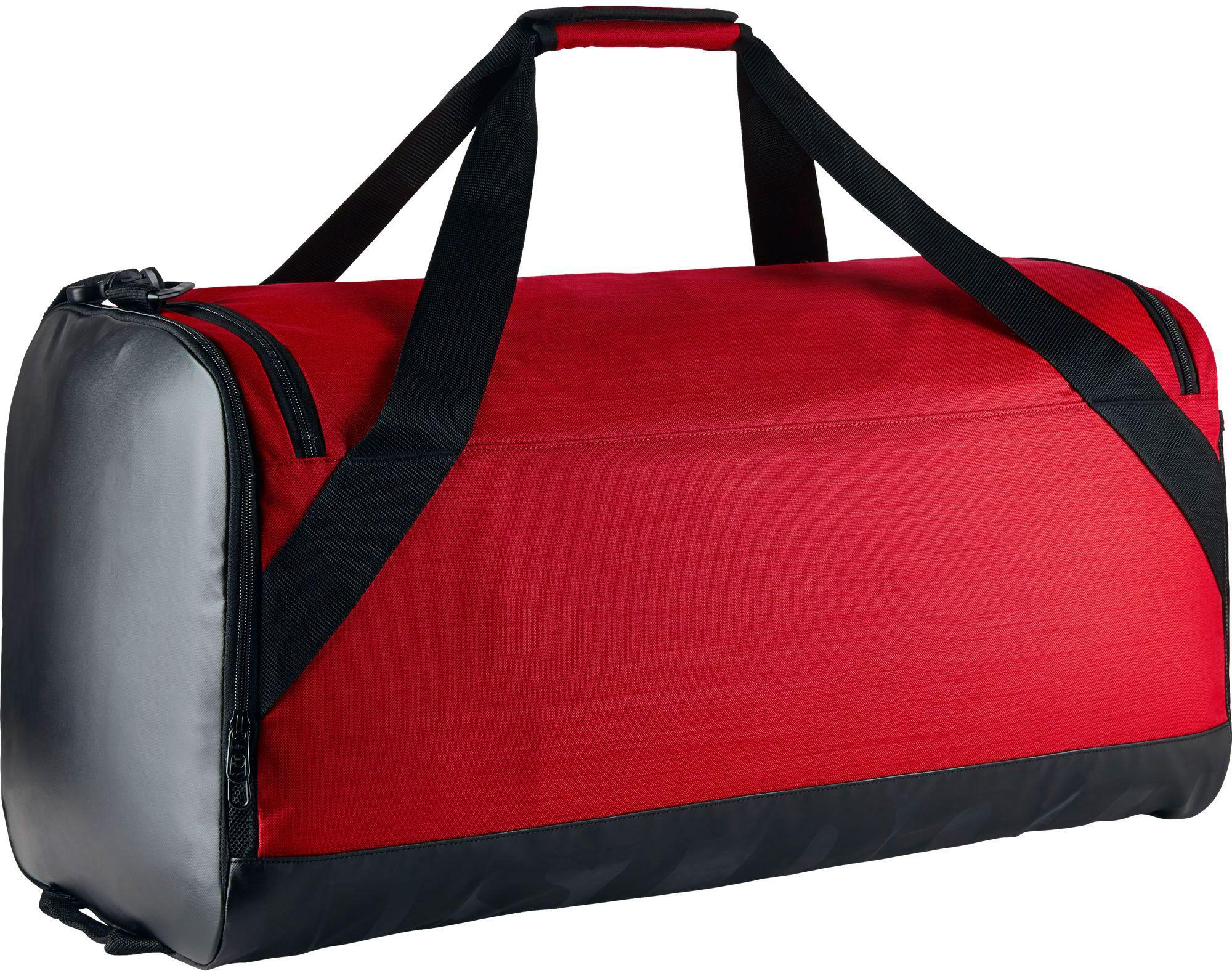 Nike Duffle Bag Red Fitzpatrick Painting  Fitzpatrick Painting