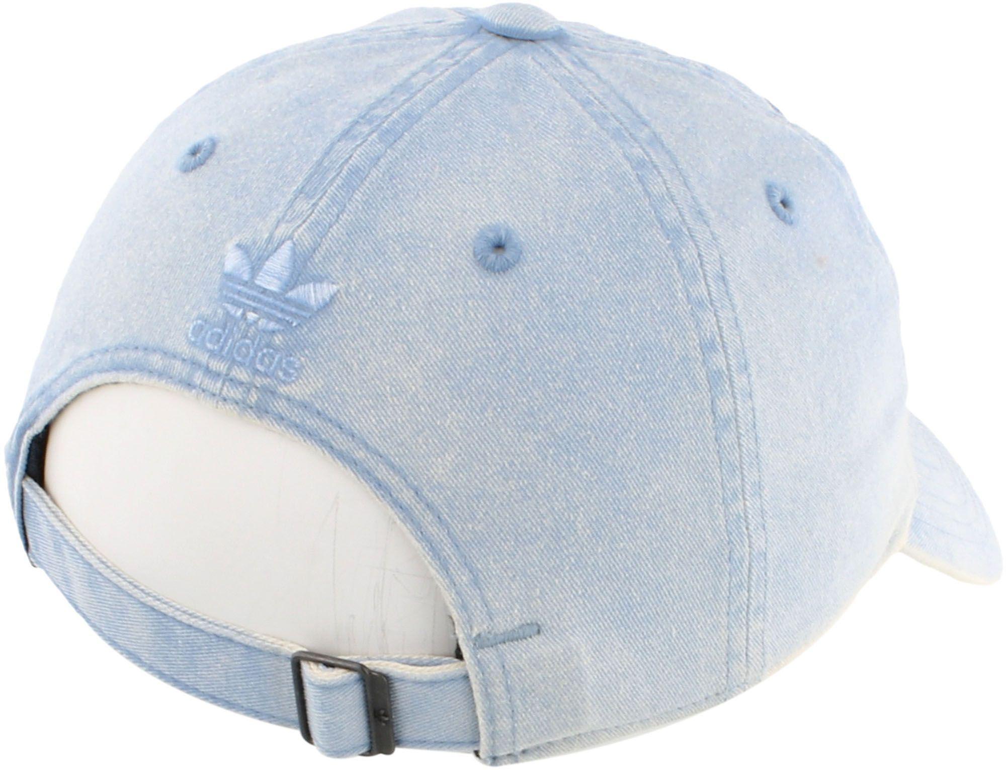 081b6b3328eb3 Adidas - Blue Originals Relaxed Overdye Hat - Lyst. View fullscreen