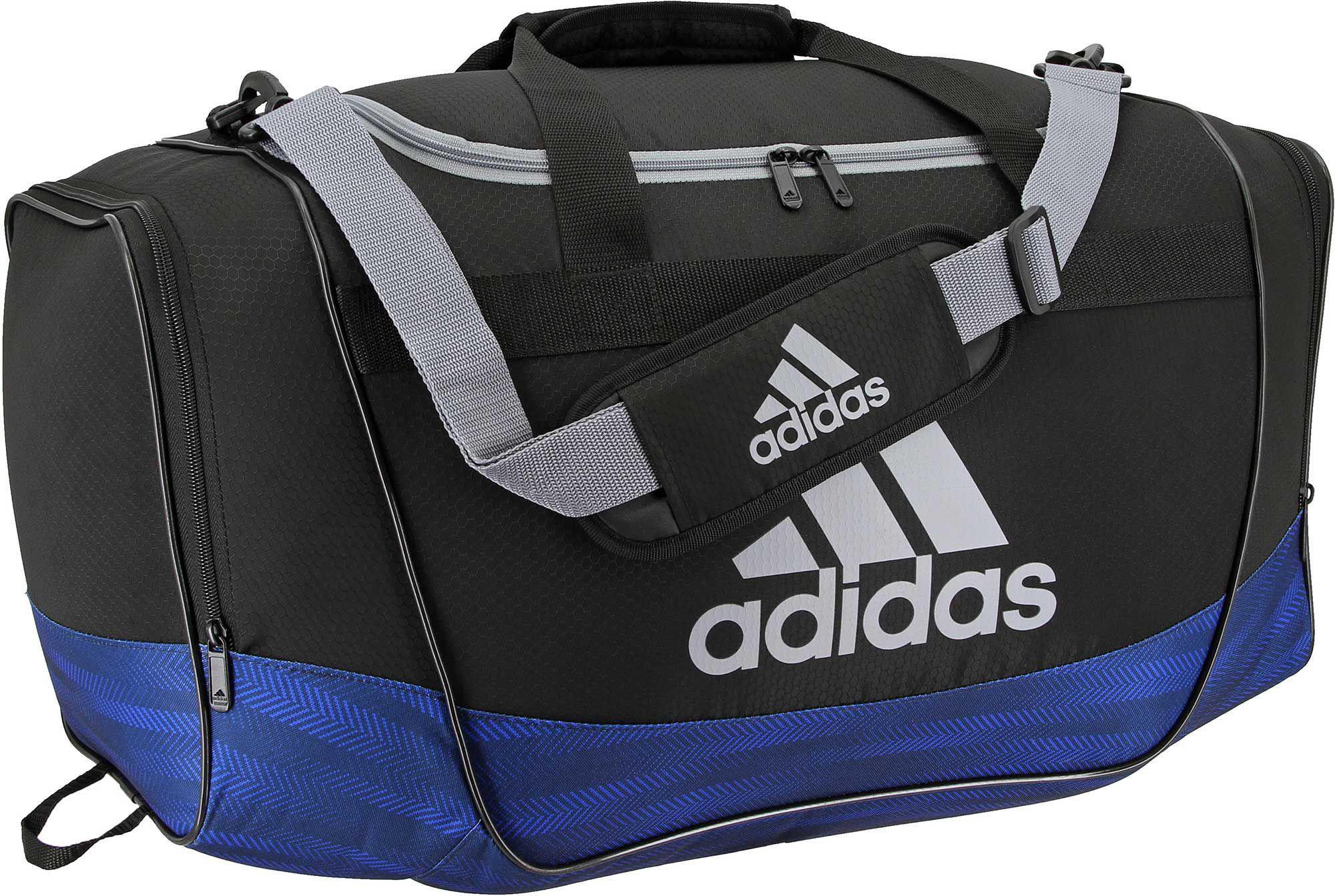 Lyst - adidas Defender Medium Duffle Bag in Black for Men 2999c471a9a52