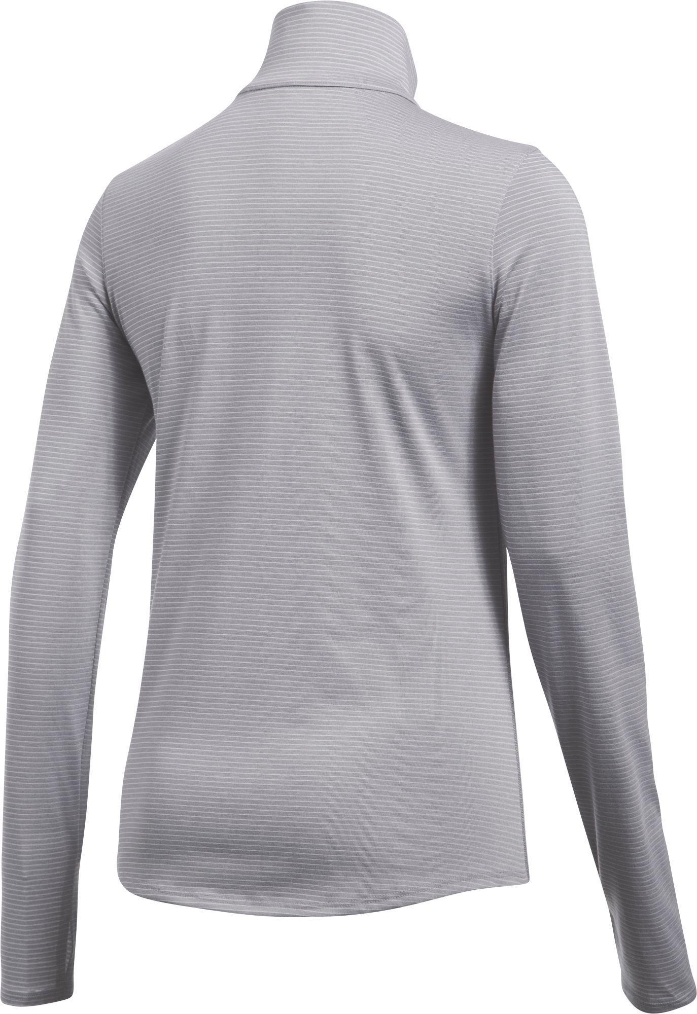 8aa3d25b Under Armour - Gray Threadborne Streaker Half-zip Long Sleeve Running Shirt  - Lyst