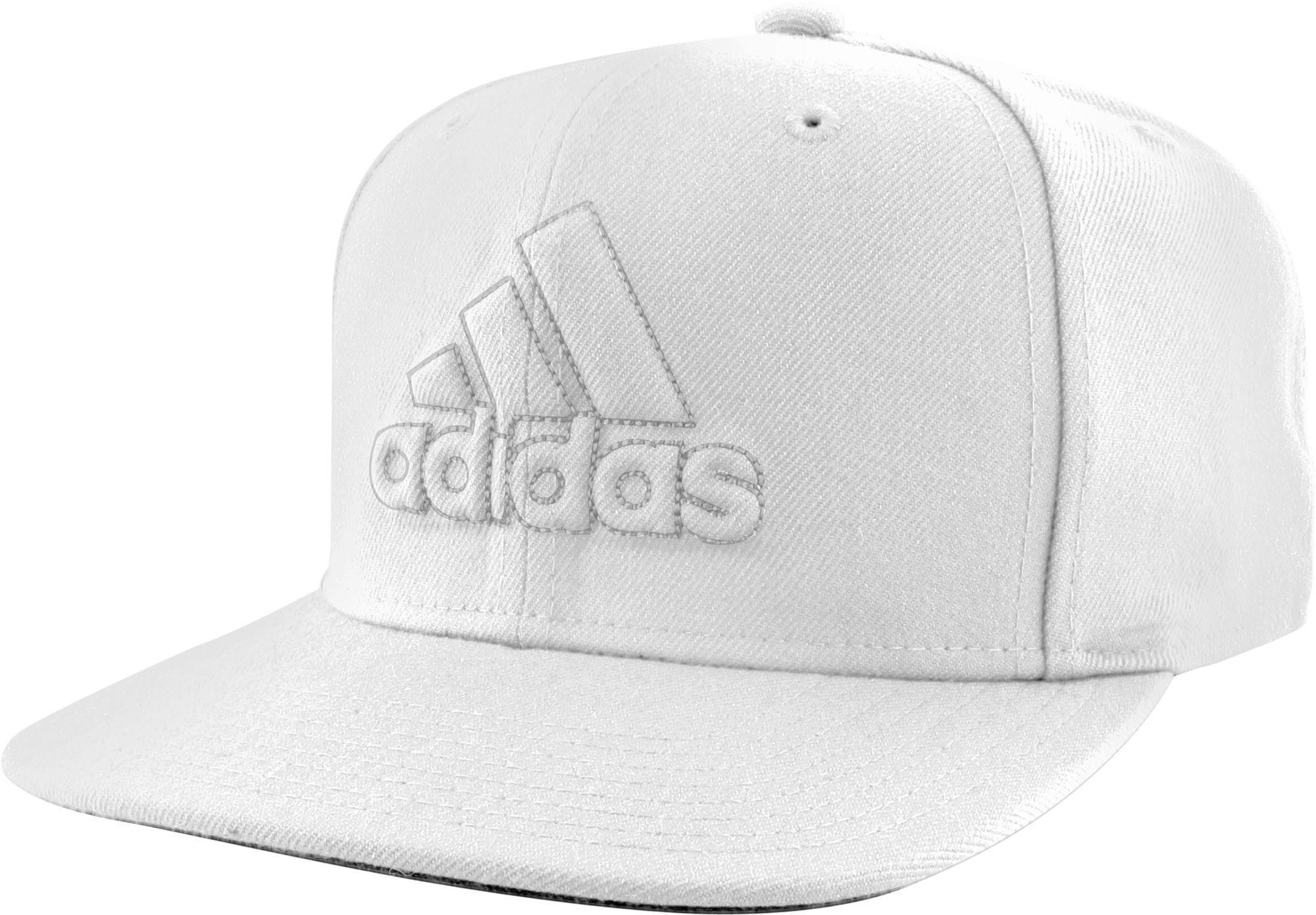 d4c57bd96c6 Lyst - adidas Originals Daybreaker Snapback Hat in White for Men