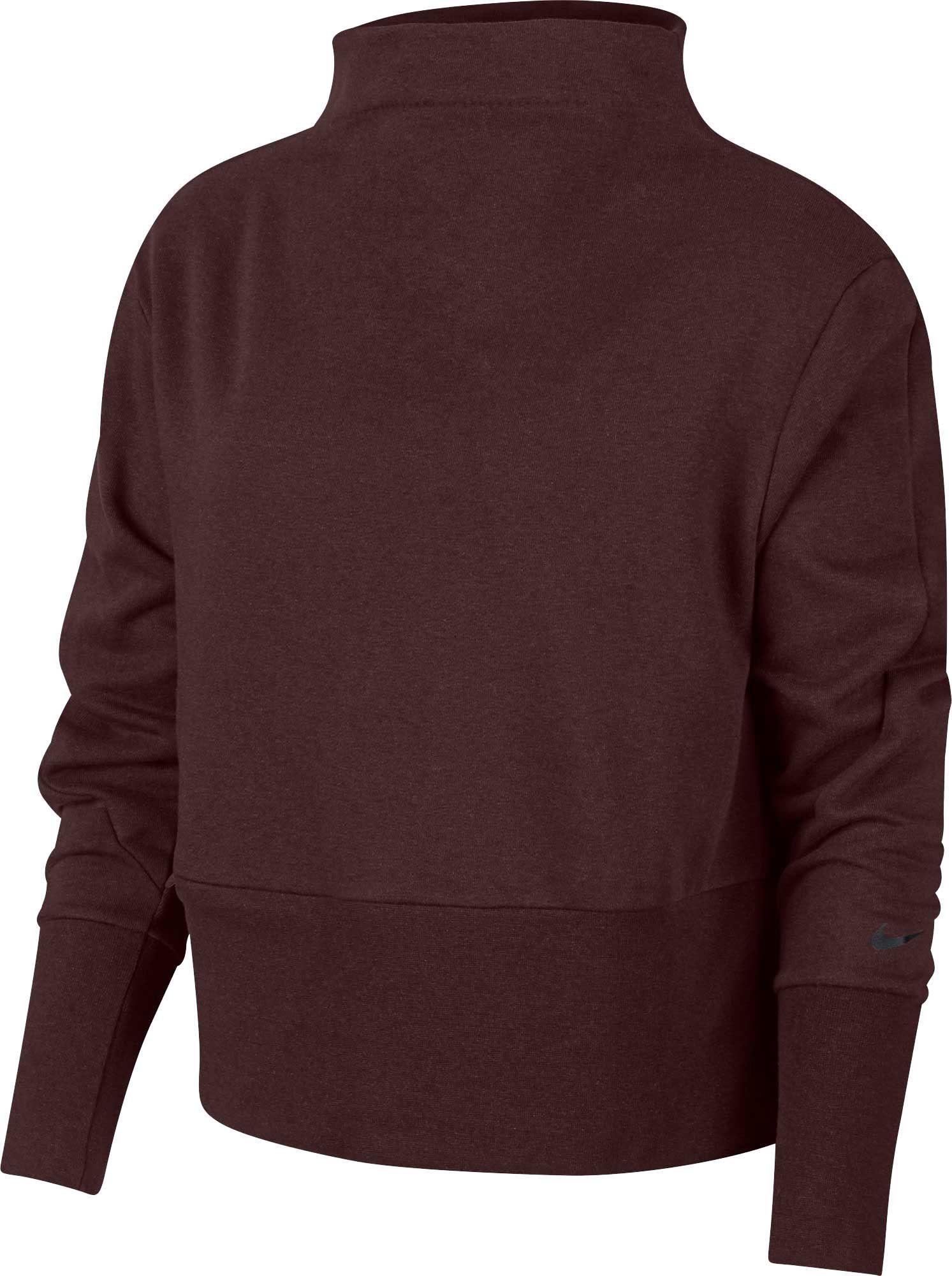 d2e8ad720e5 Lyst - Nike Versa Training Pullover in Purple
