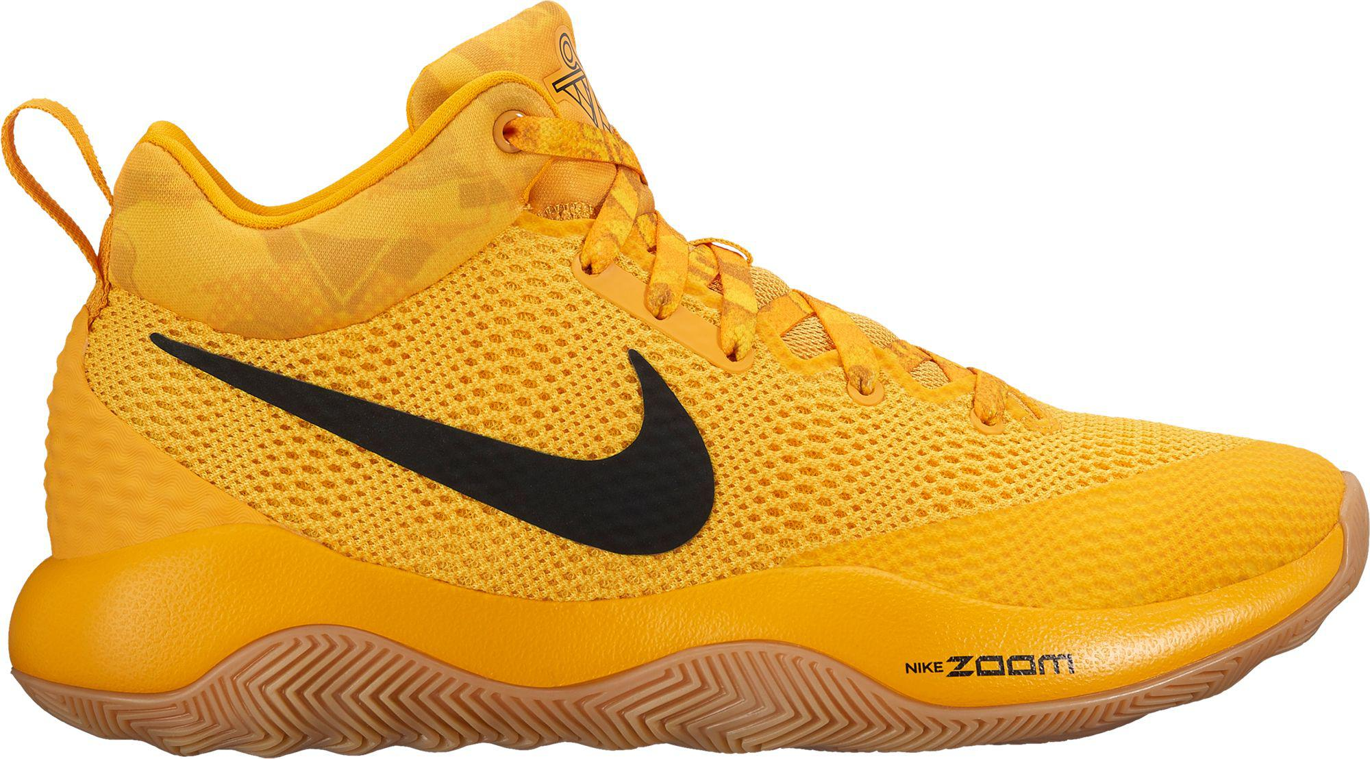 b755521f118b Lyst - Nike Zoom Rev 2017 Basketball Shoes in Yellow for Men