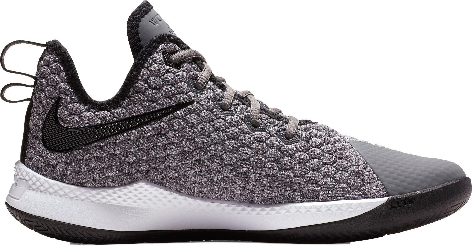 ad096b4d Nike Lebron Witness Iii Basketball Shoes in Gray for Men - Lyst