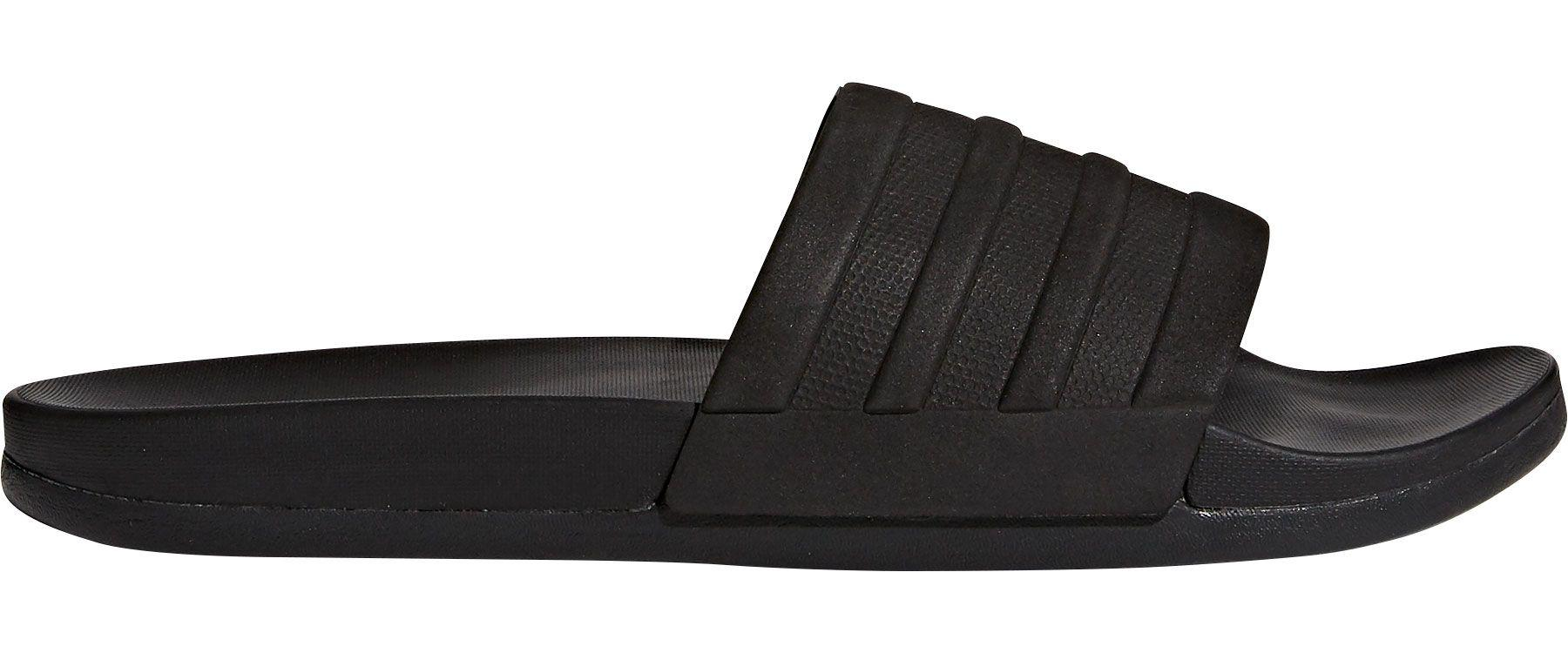 e408b8080 Lyst - adidas Adilette Cloudfoam Plus Mono Slides in Black for Men