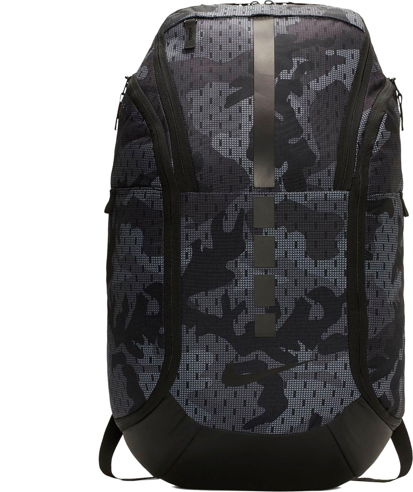 018e24f215 Lyst - Nike Hoops Elite Pro Camo Basketball Backpack in Gray for Men