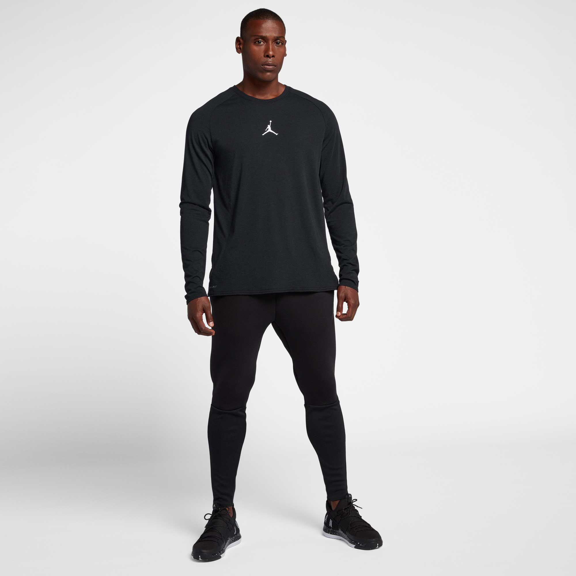 37af1e64ffd0 Nike - Black Dry 23 Alpha Long Sleeve Shirt for Men - Lyst. View fullscreen