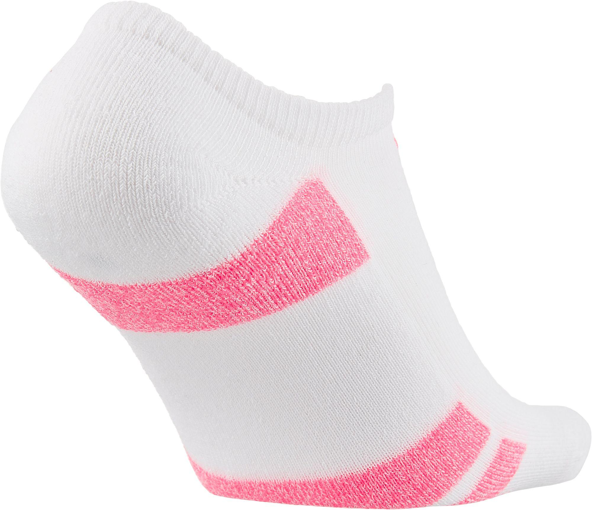 9ba2979a785e Champion - Pink Performance No Show Socks 6 Pack - Lyst. View fullscreen