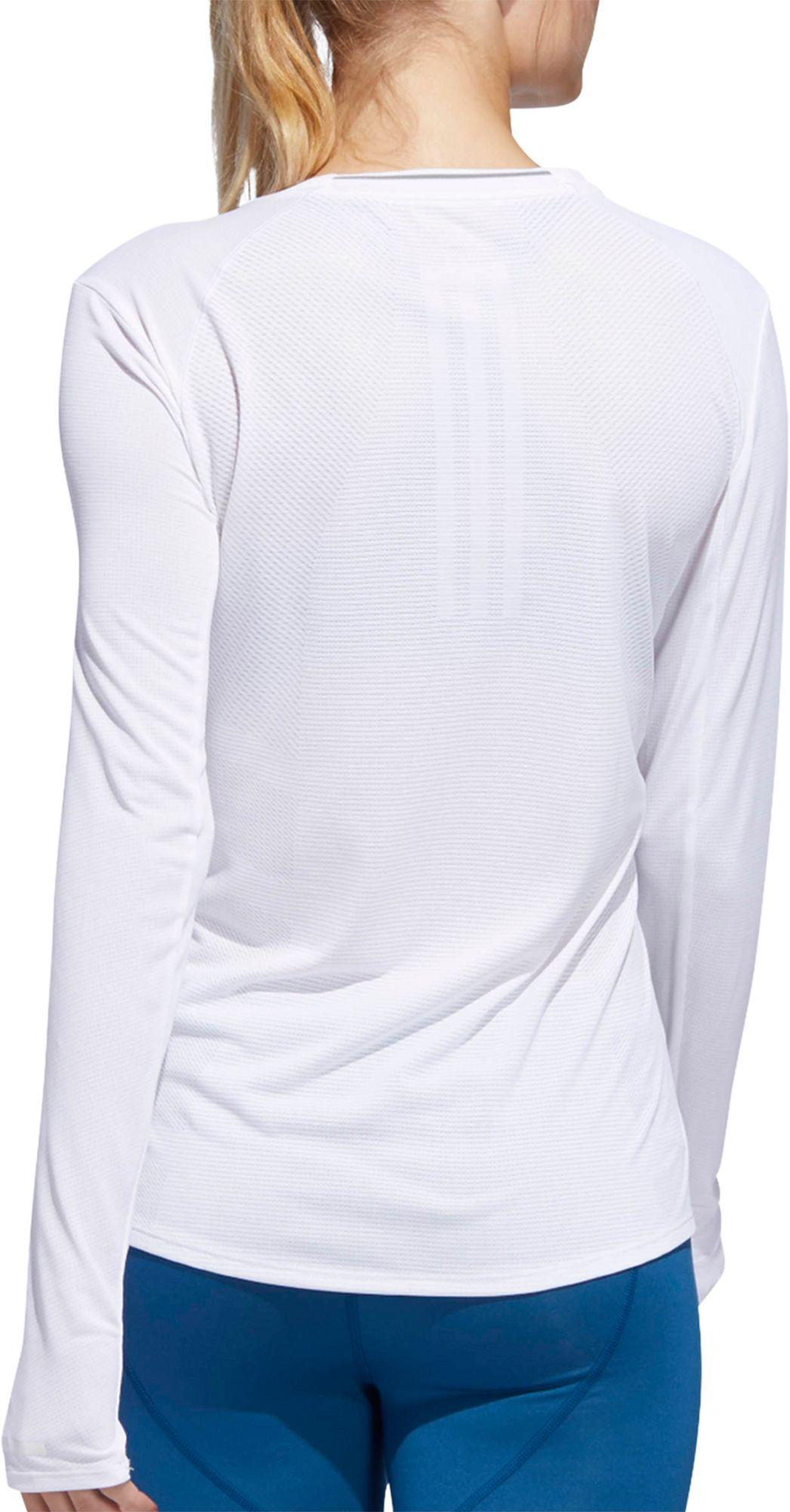 8147f5497ebc4 Adidas - White Supernova Running Long Sleeve Shirt - Lyst. View fullscreen