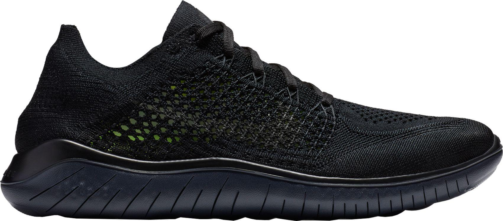 3731fef53b572 Lyst - Nike Free Rn Flyknit 2018 Running Shoes in Black for Men