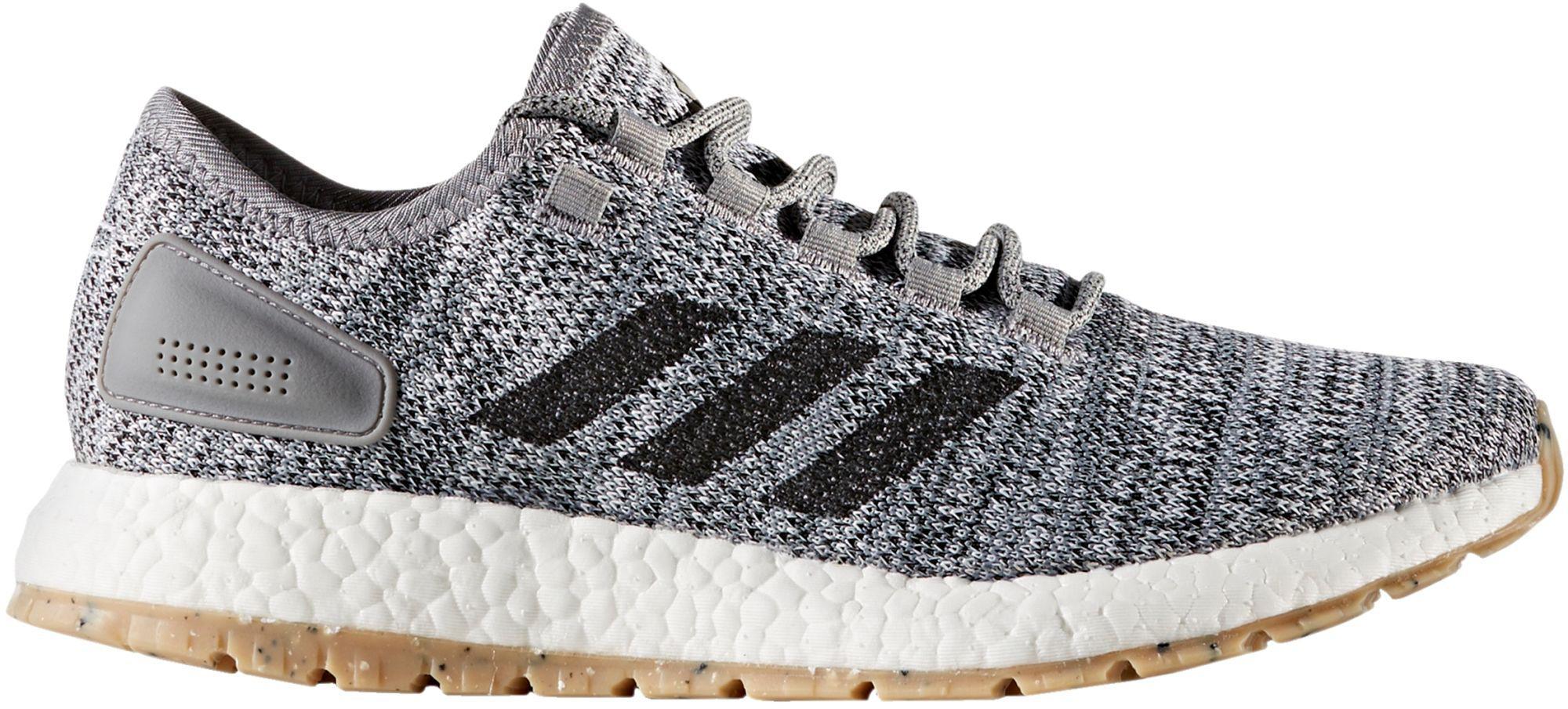 lyst adidas pureboost tutto terreno le scarpe da corsa in grigio per gli uomini.