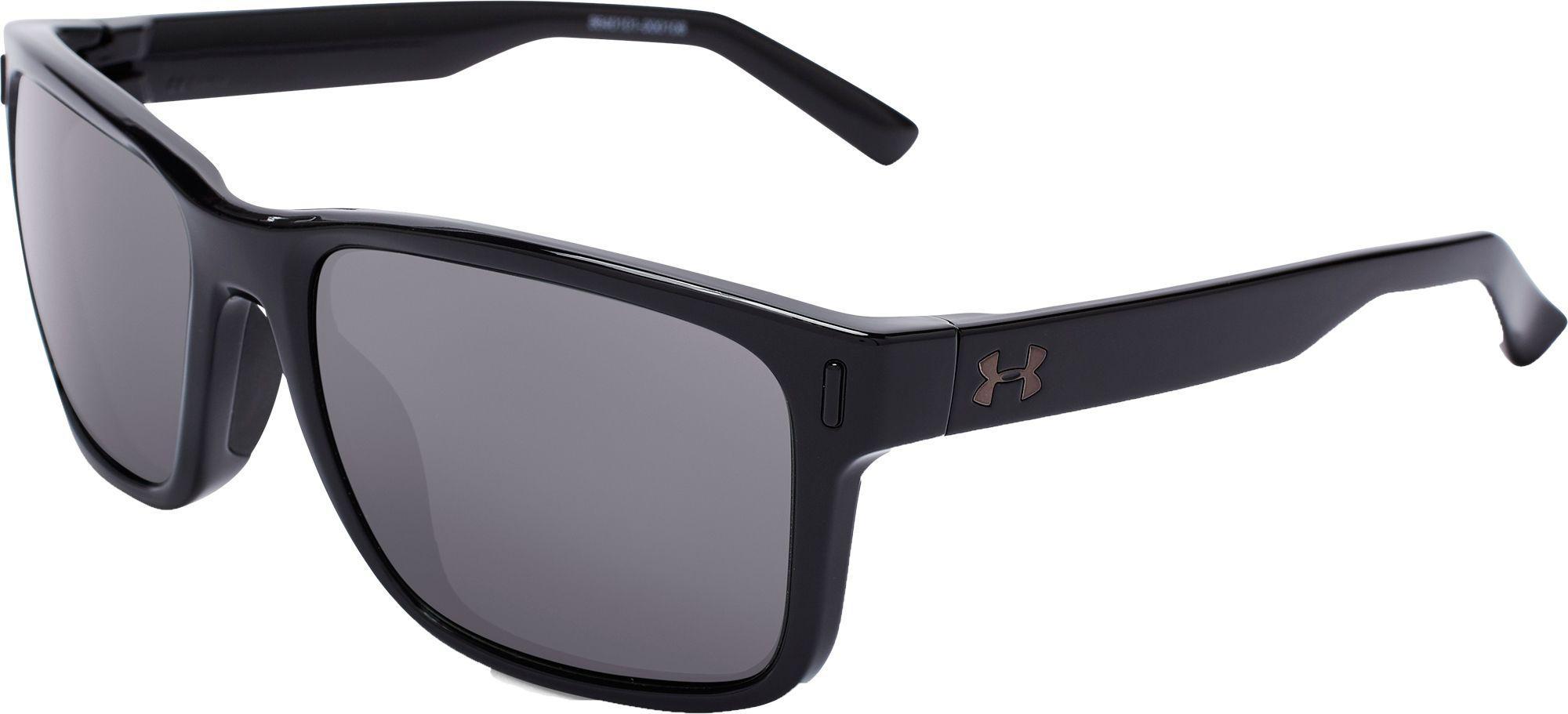 91bb30ec3e6 Lyst - Under Armour Assist Polarized Sunglasses in Black for Men